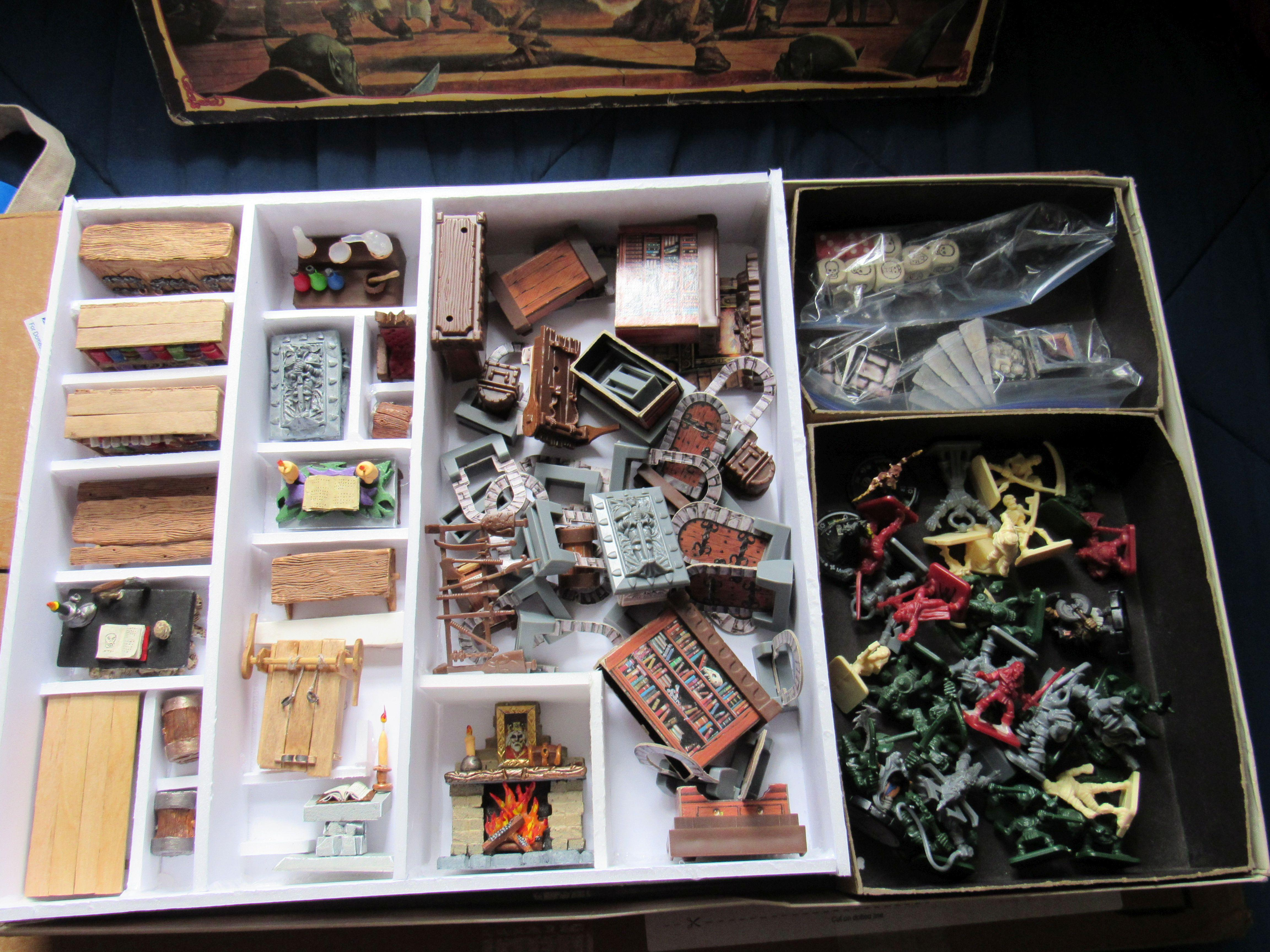 Hero Quest furniture storage