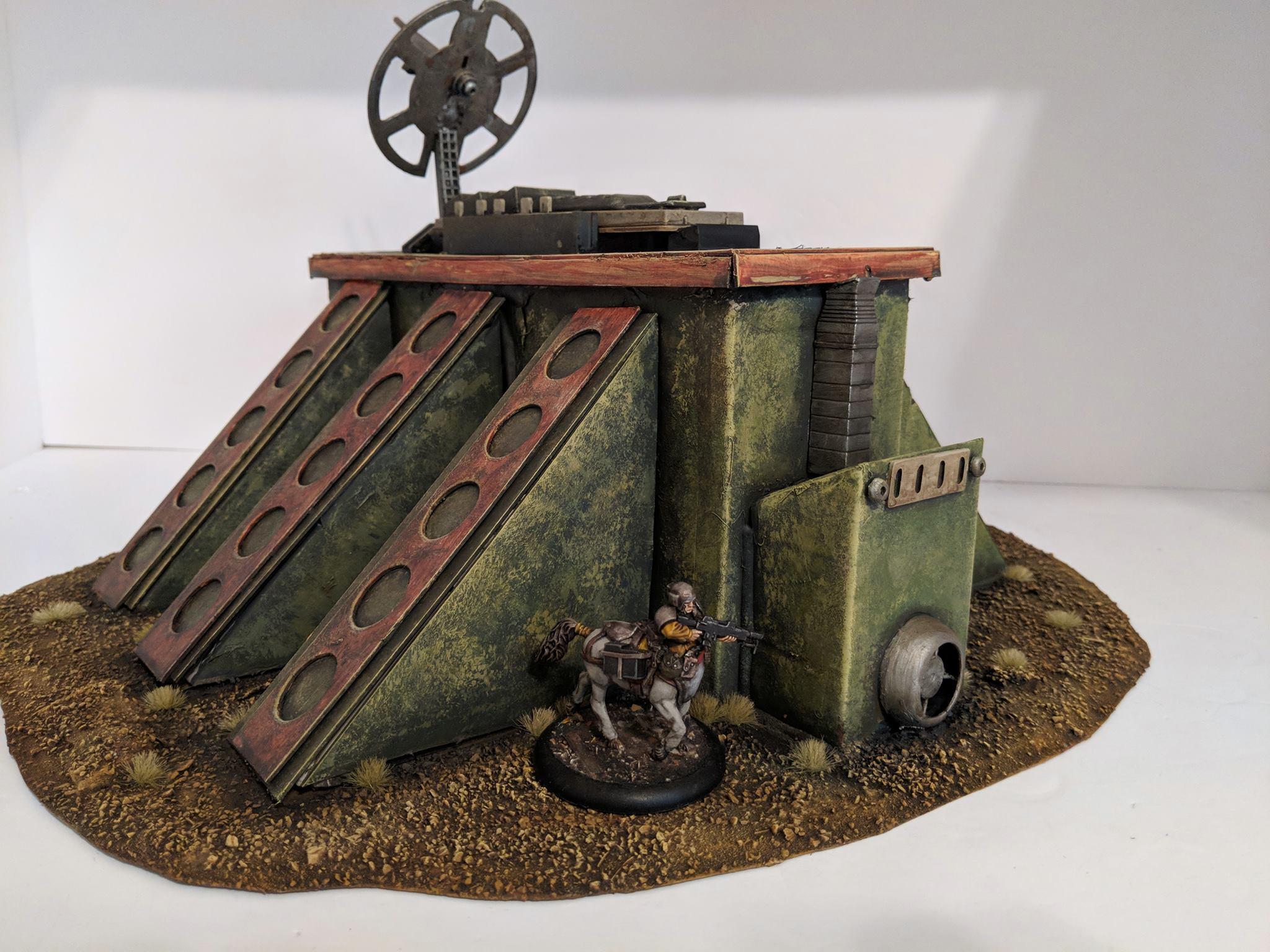 Bunker, Terrain, Uplink