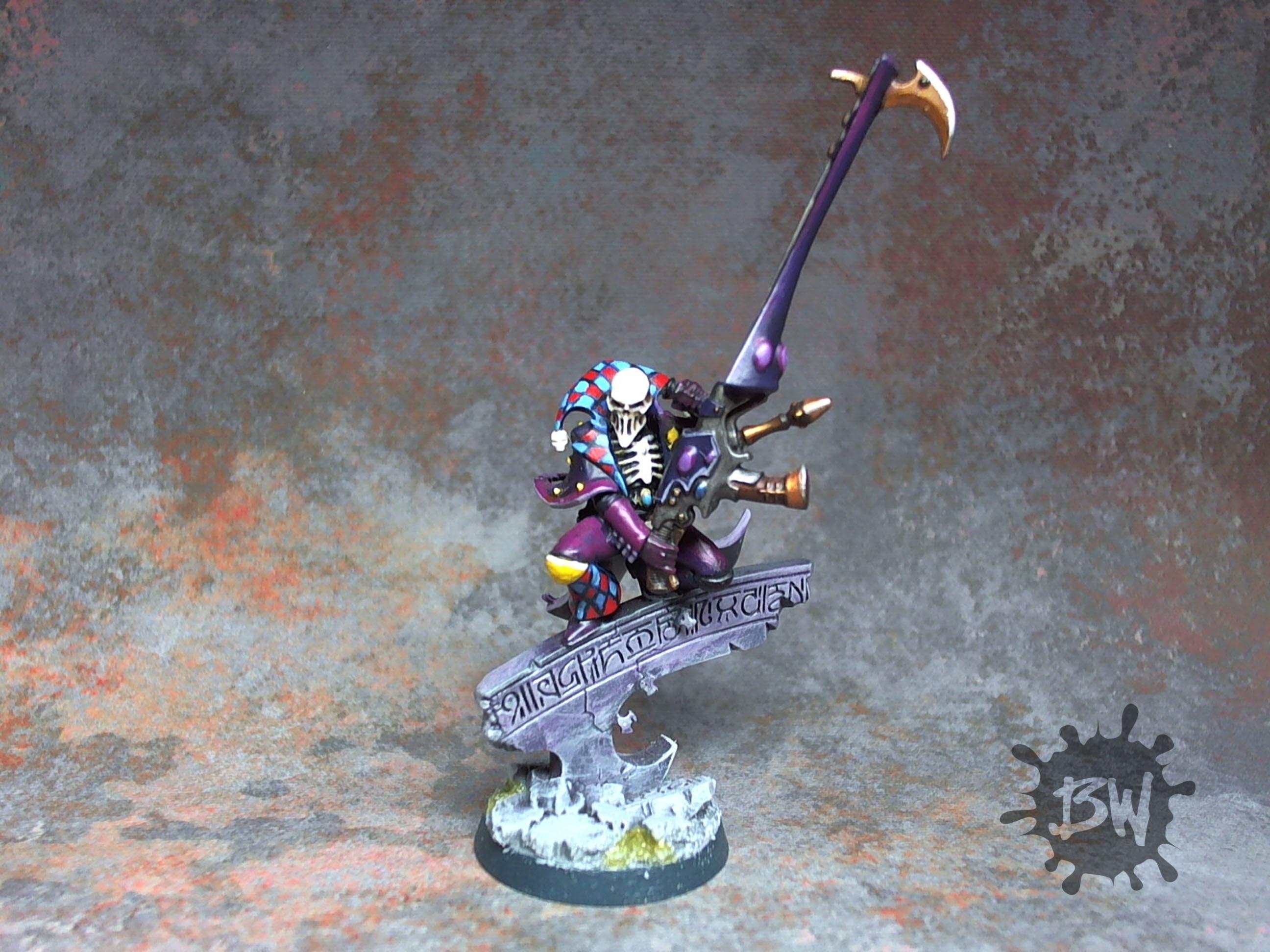 Death Jester, Harlequins, Warhammer 40,000