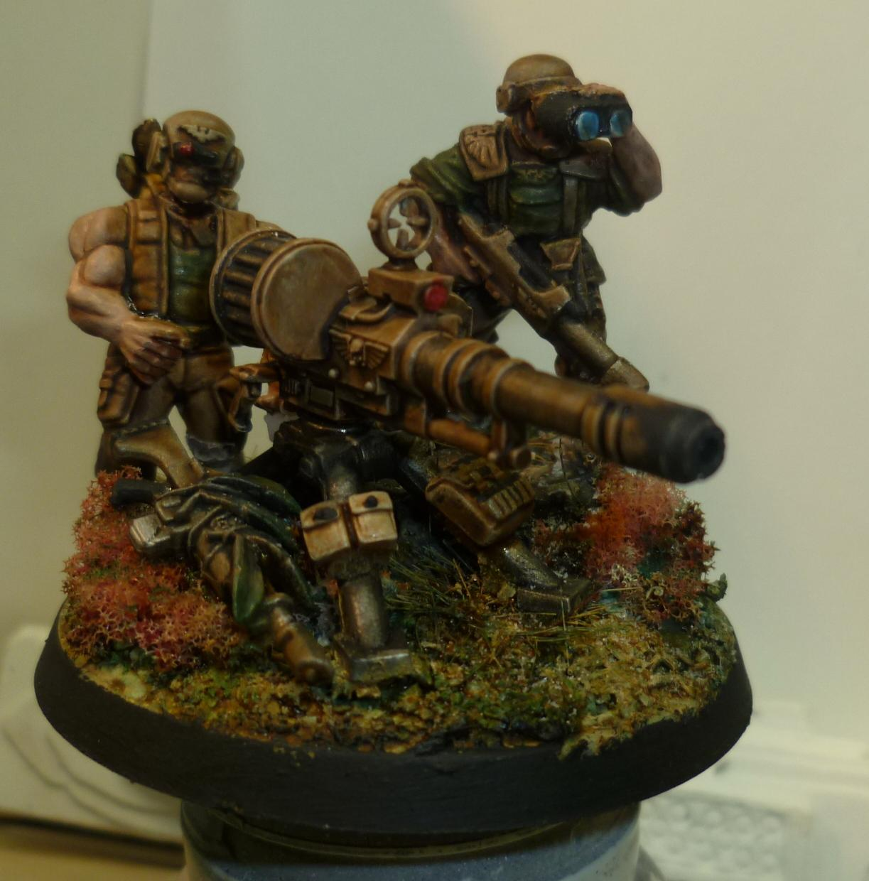 Autocannon, Heavy Weapon, Imperial Guard