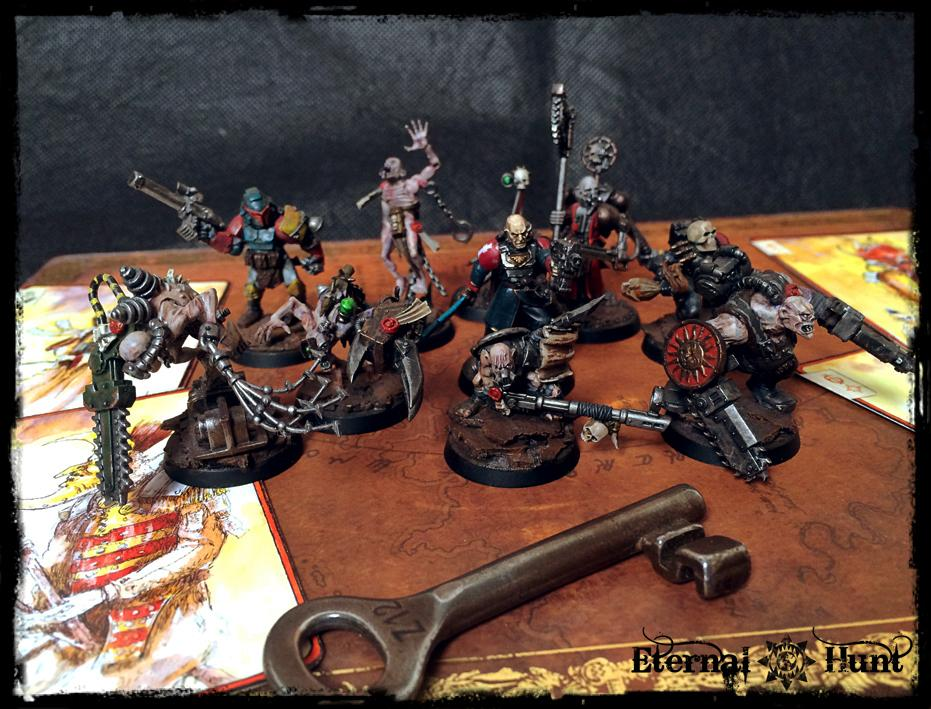Assassin, Conversion, Daemonhost, Inq28, Inquisimunda, Inquisition, Inquisitor, Inquisitor 28, Inquisitor Antrecht, Kitbash, Ordo Malleus, Radical, Retinue, Warband