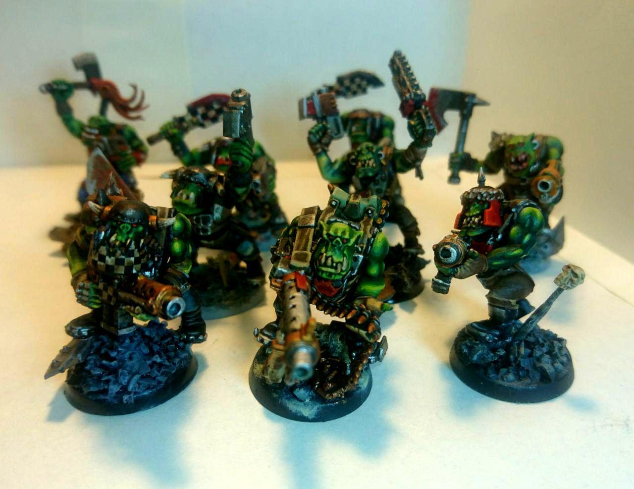 Boy, Conversion, Goffs, Nob, Ork Boy, Ork Conversion, Ork Goff Boy, Orks, Space Orks, Warhammer 40,000