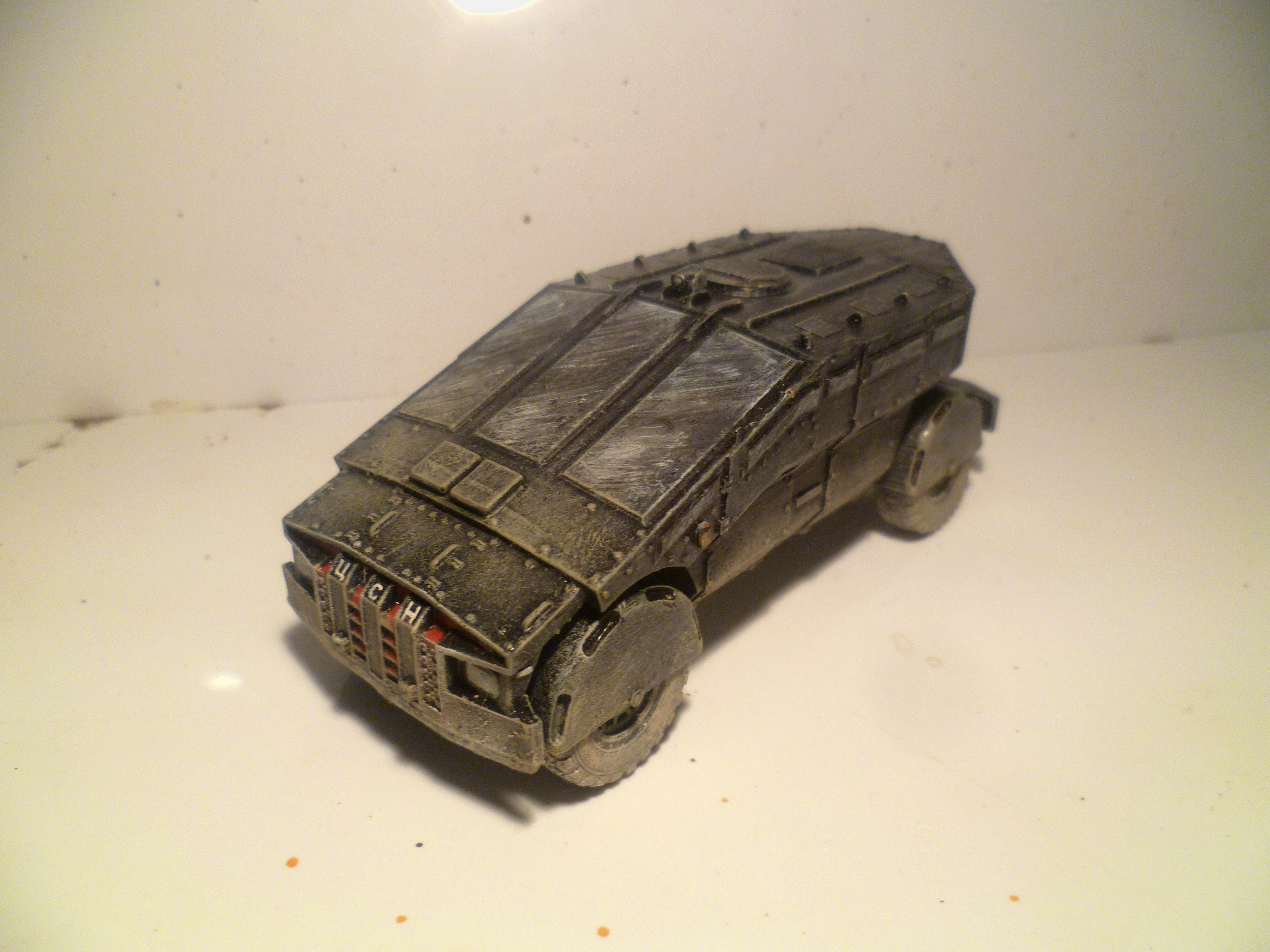 28mm, Arma, Armored Car, Eastern European, Falcatus, Fi, Ifrit, Modern, Punisher, Russians, Sci, Ukrainian, Vehicle, Zil