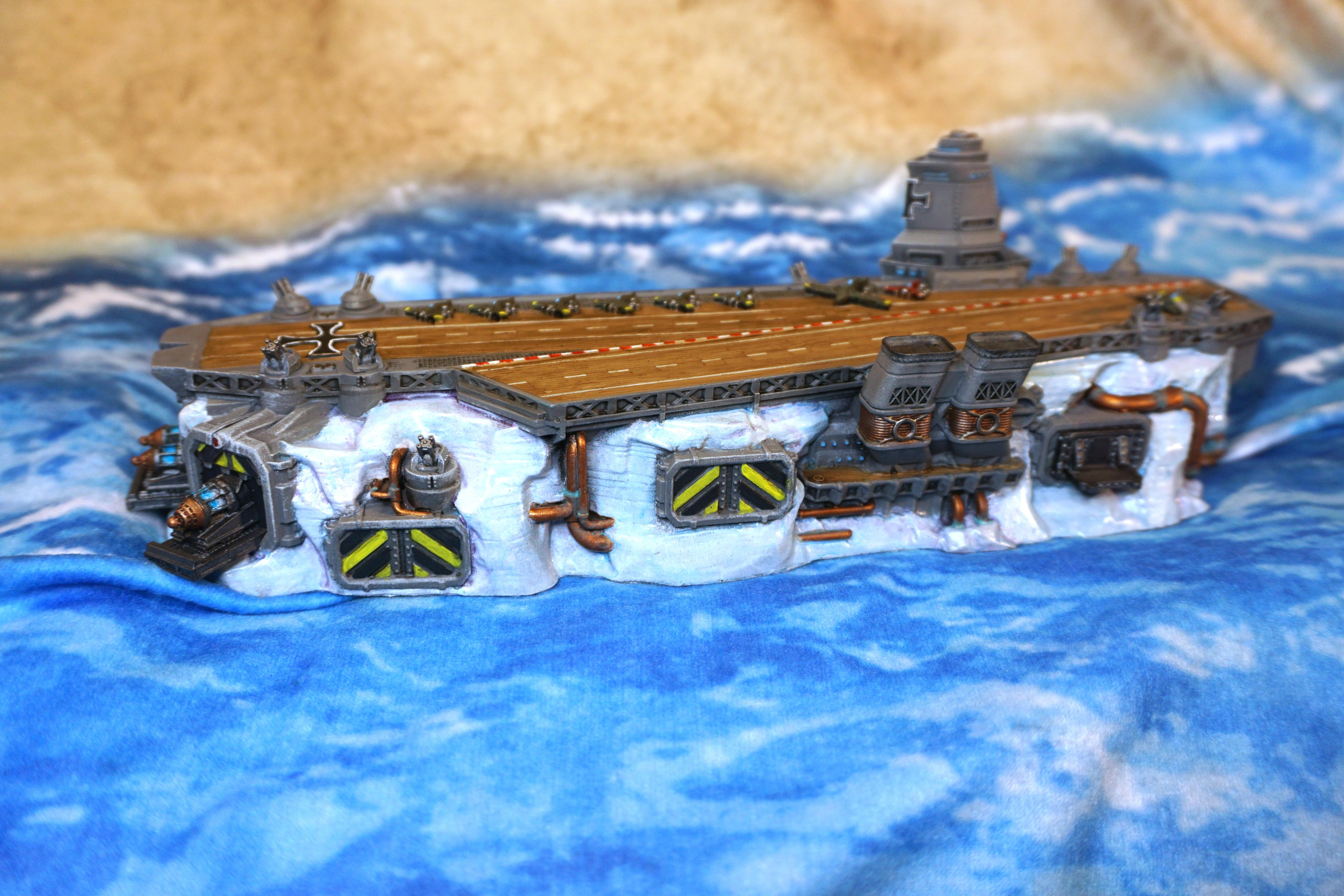 Aircraft Carrier, Dystopian Wars, Germans, Iceberg
