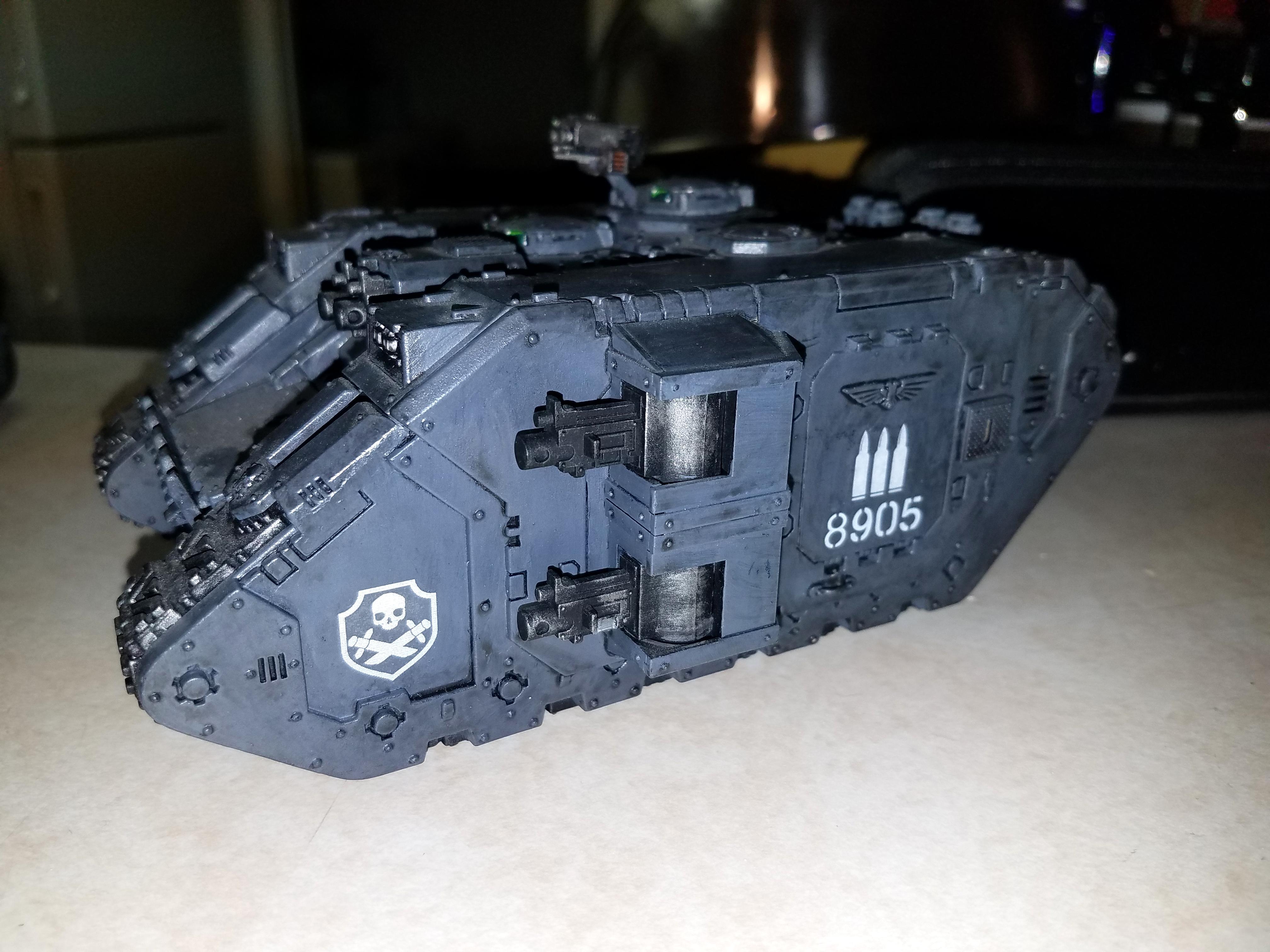 Custom, Land Raider, Space Marines