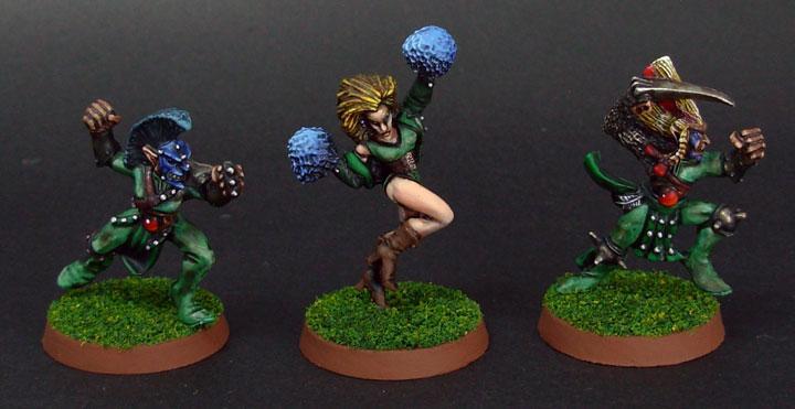 Blood Bowl, Cheerleader, Wardancer, Wood Elves