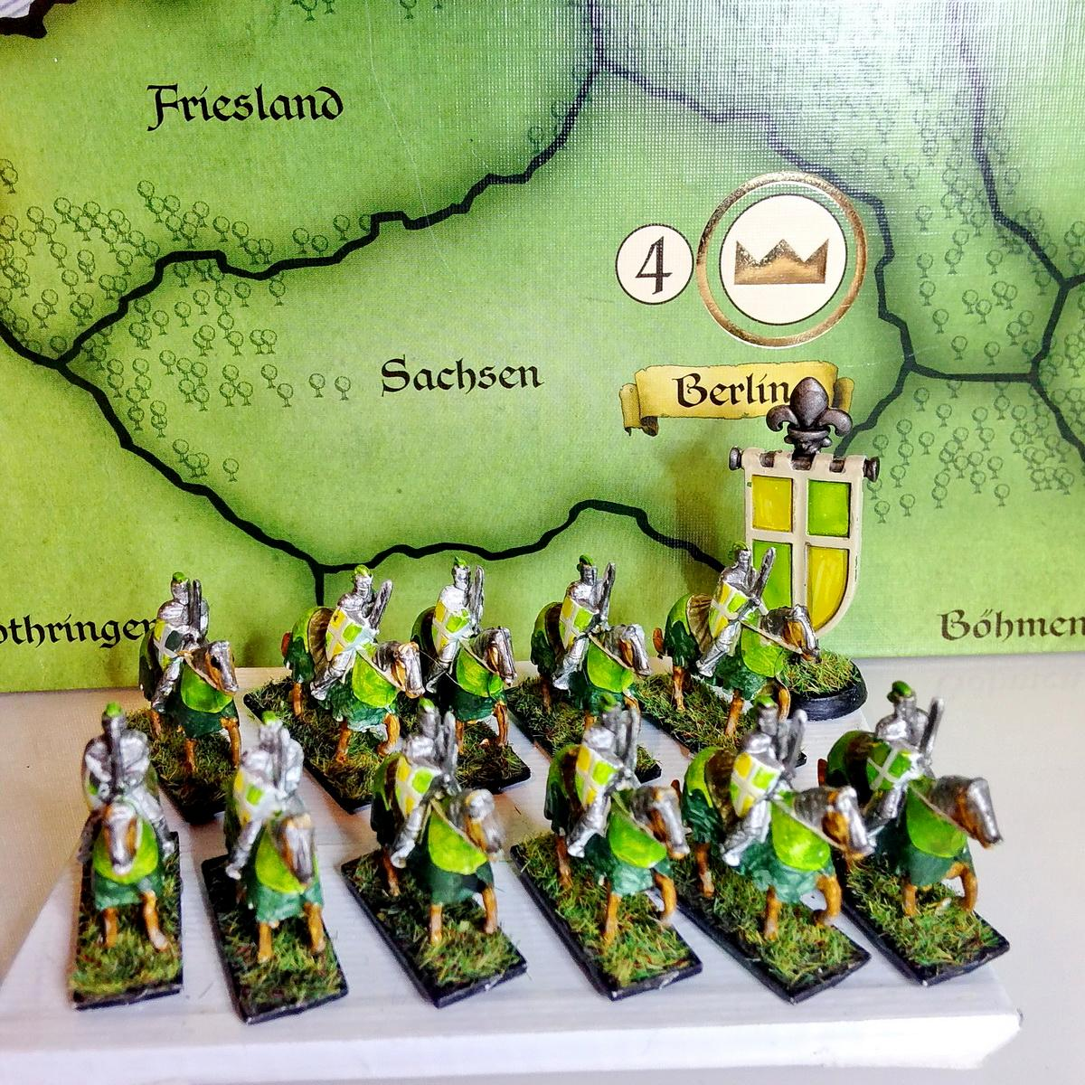 Bemalt, Dark Age, Merowinger, Middleage, Normannen, Osamnen, Painted, Risiko, Risiko Europa, Risk Europe Painted, Russians, Tabletop