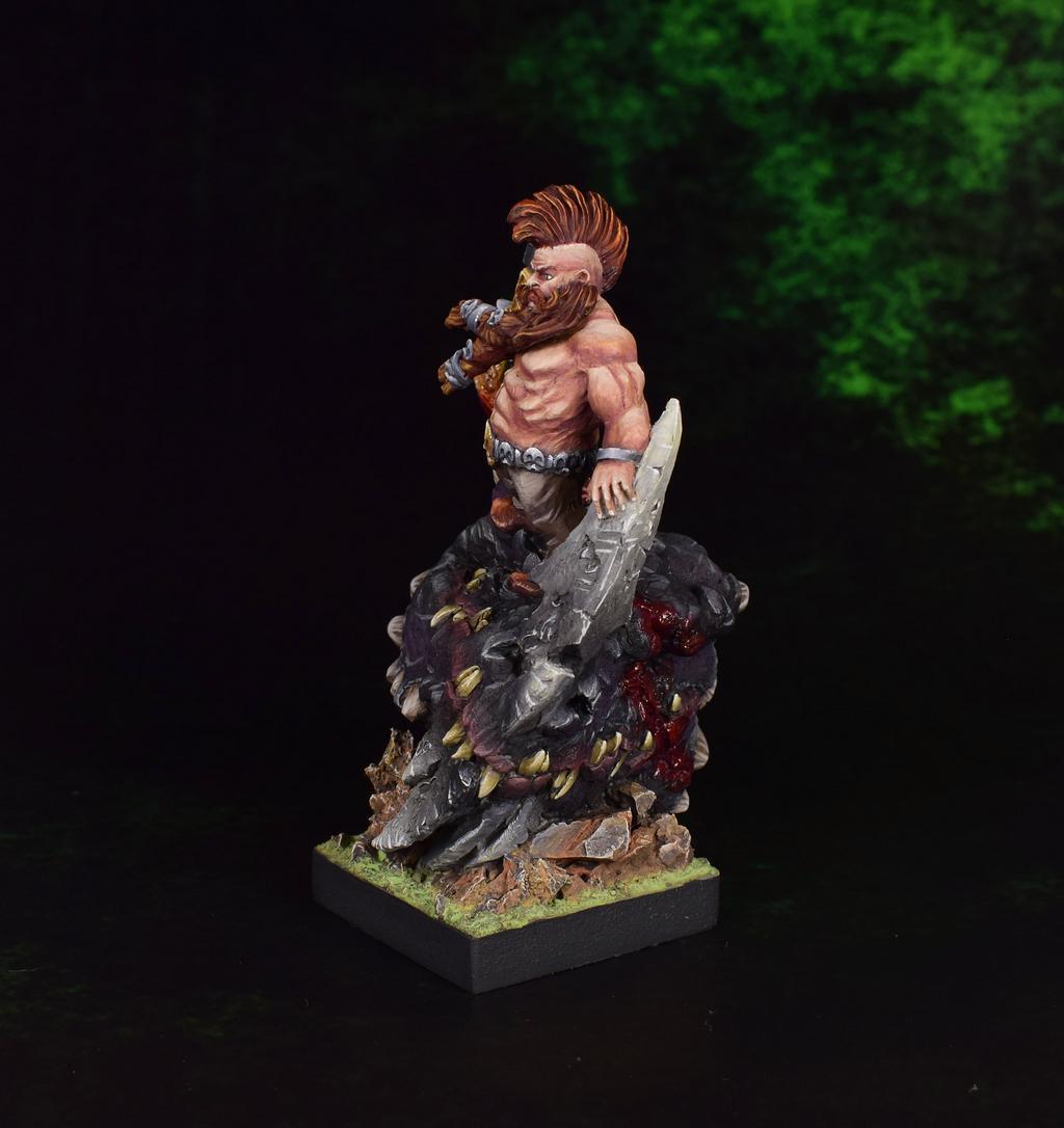 Dragon Slayer, Dwarf Wild Chieftain, Dwarves, Scibor