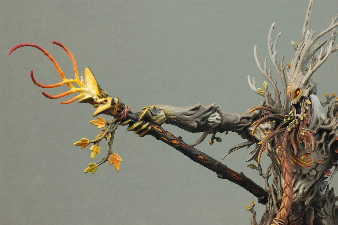 Age Of Sigmar, Highlights, Object Source Lighting, Sylvaneth, Treelord, Treelord Ancient
