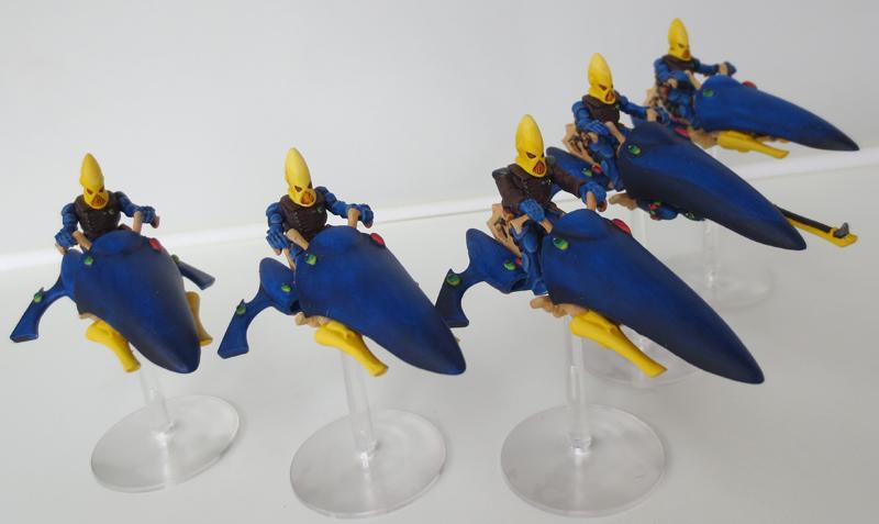 Alaitoc, Craftworld Eldar, Eldar Jetbikes, Rogue Trader Eldar