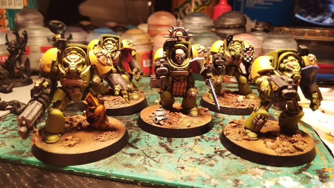 Mantis Warriors, Space Marines, Terminator Armor