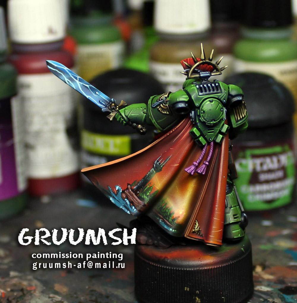 Cloak, Freehand, Space Marines