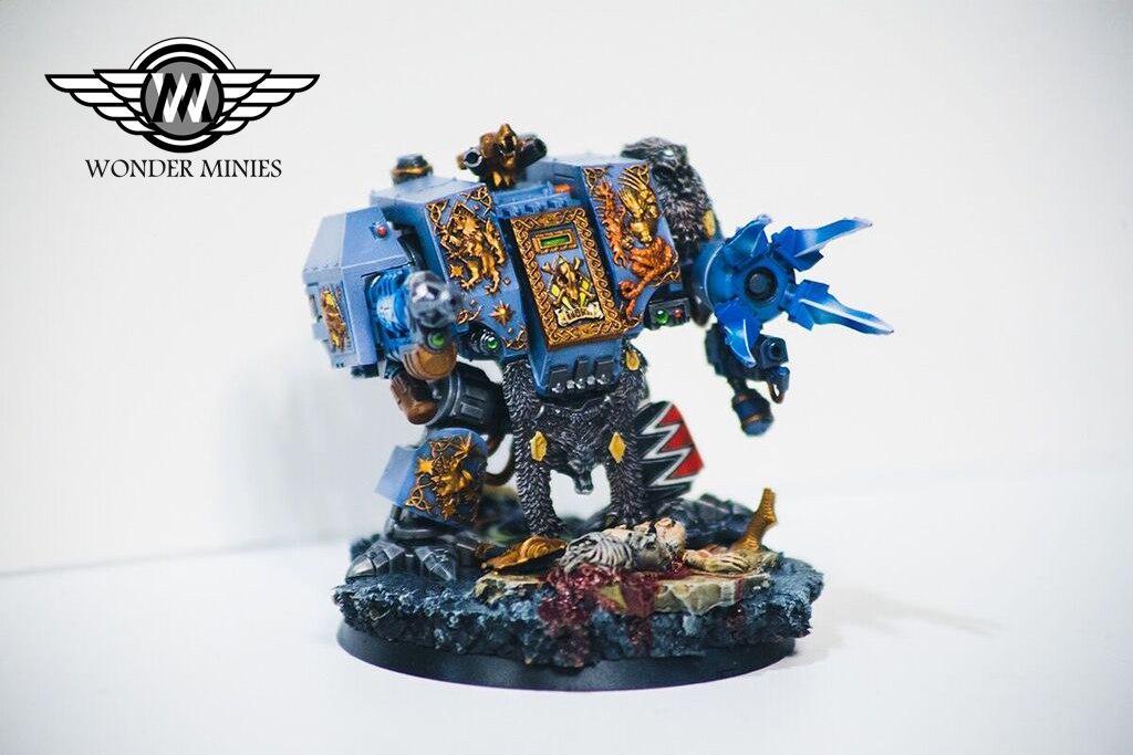 Bjorn. Imperium, Dreadnought, Space Wolfes