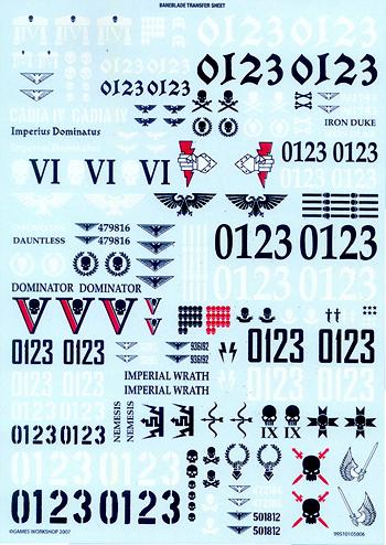 Astra Militarum, Baneblade, Flyer, Forge World, Games Workshop, Imperial Guard, Resin, Vendetta