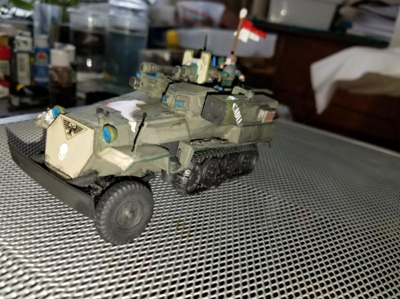 Armored Car, Chimera, Conversion, Half-track, Hanomag, Imperial Guard