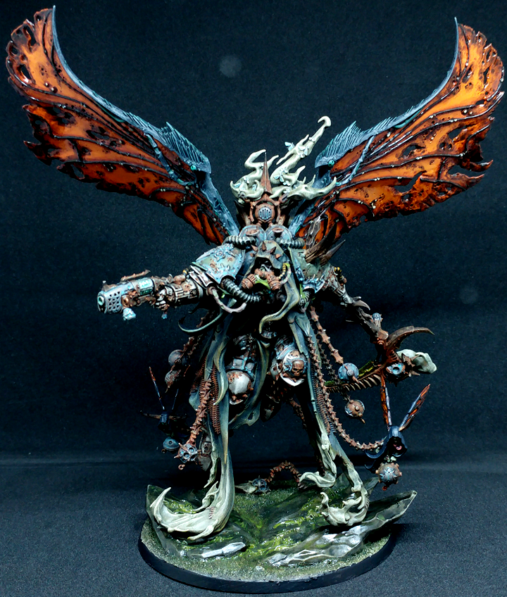 Chaos, Daemons, Death Guard, Mortarion, Primarch