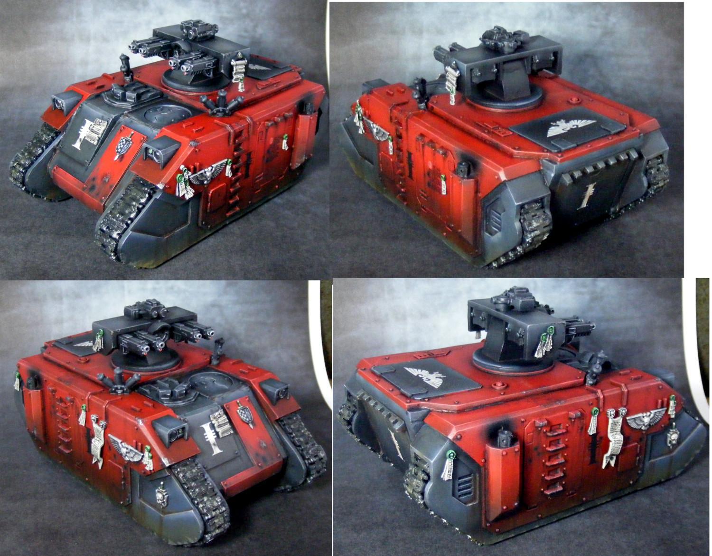 Conversion, Inquisition, Rhino, Scrachbuild