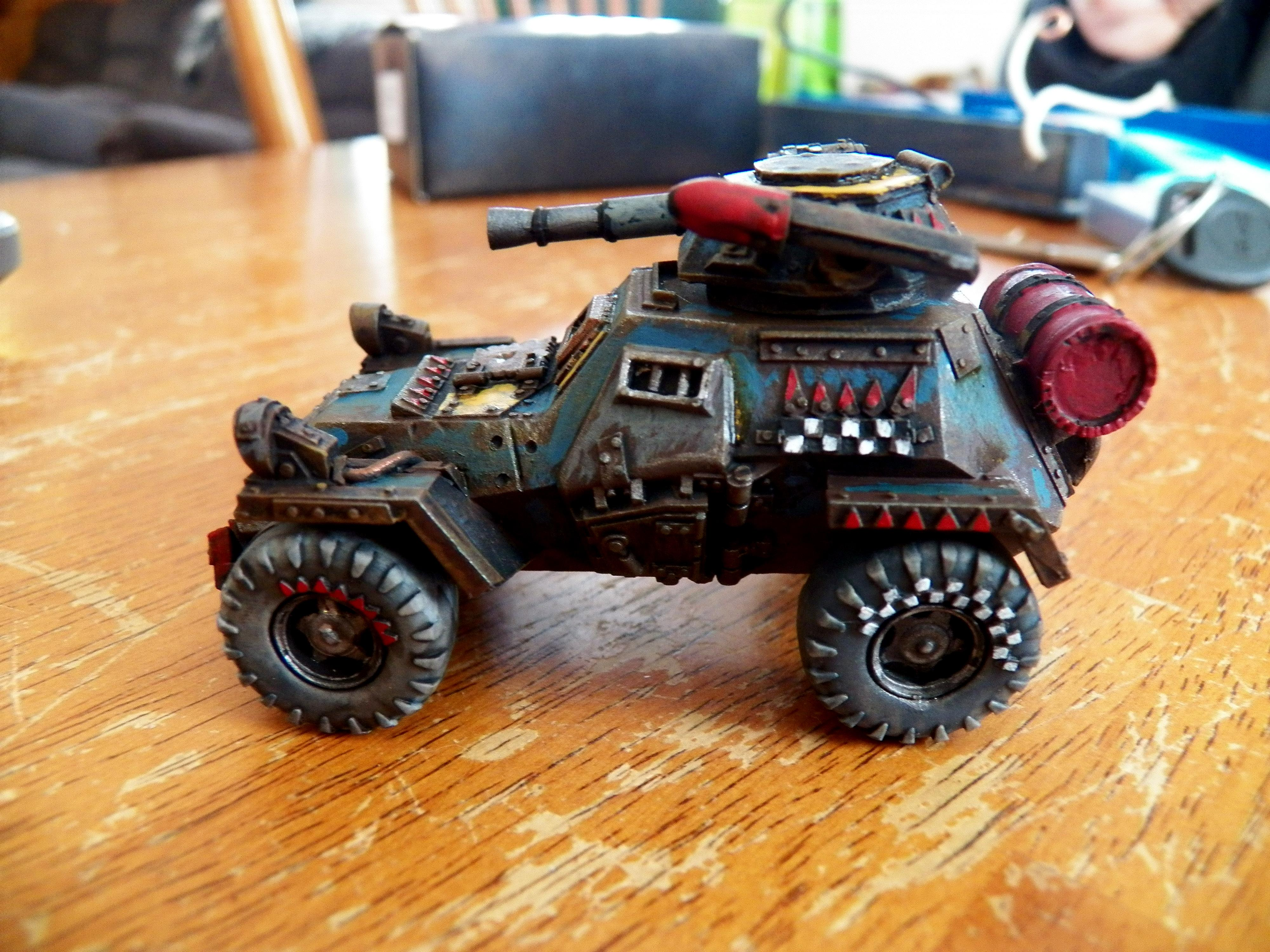 Ba-64, Buggy, Conversion, Grots, Orks