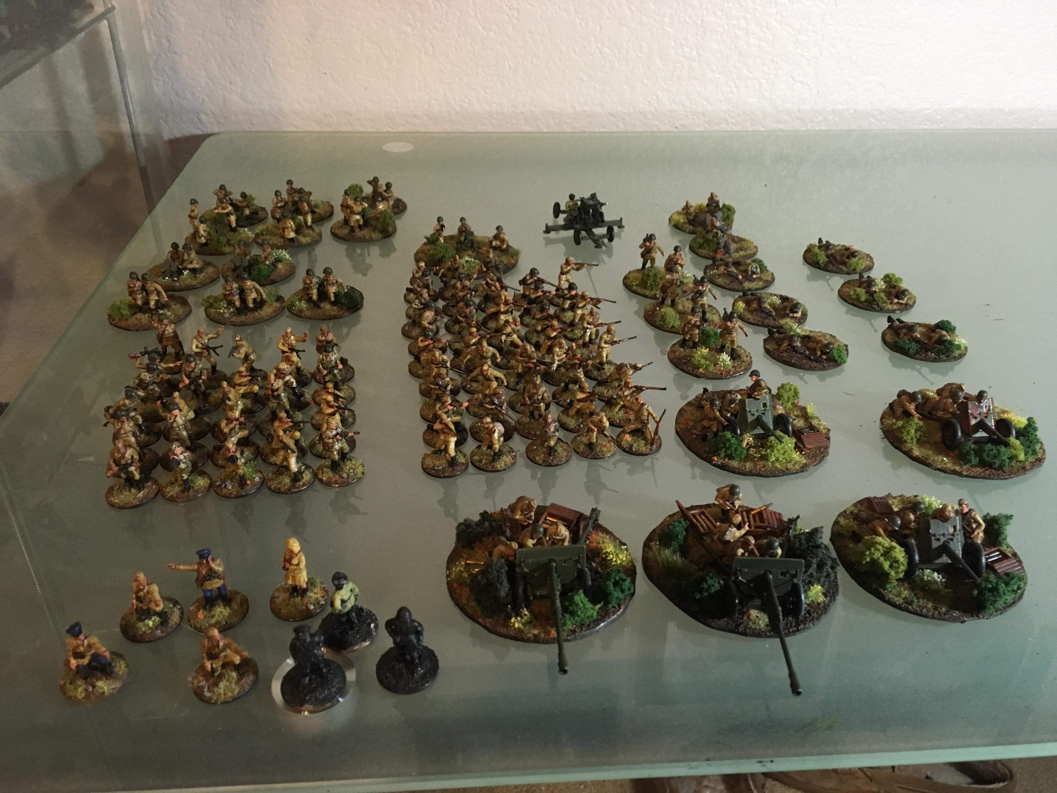20mm Russian Infantry