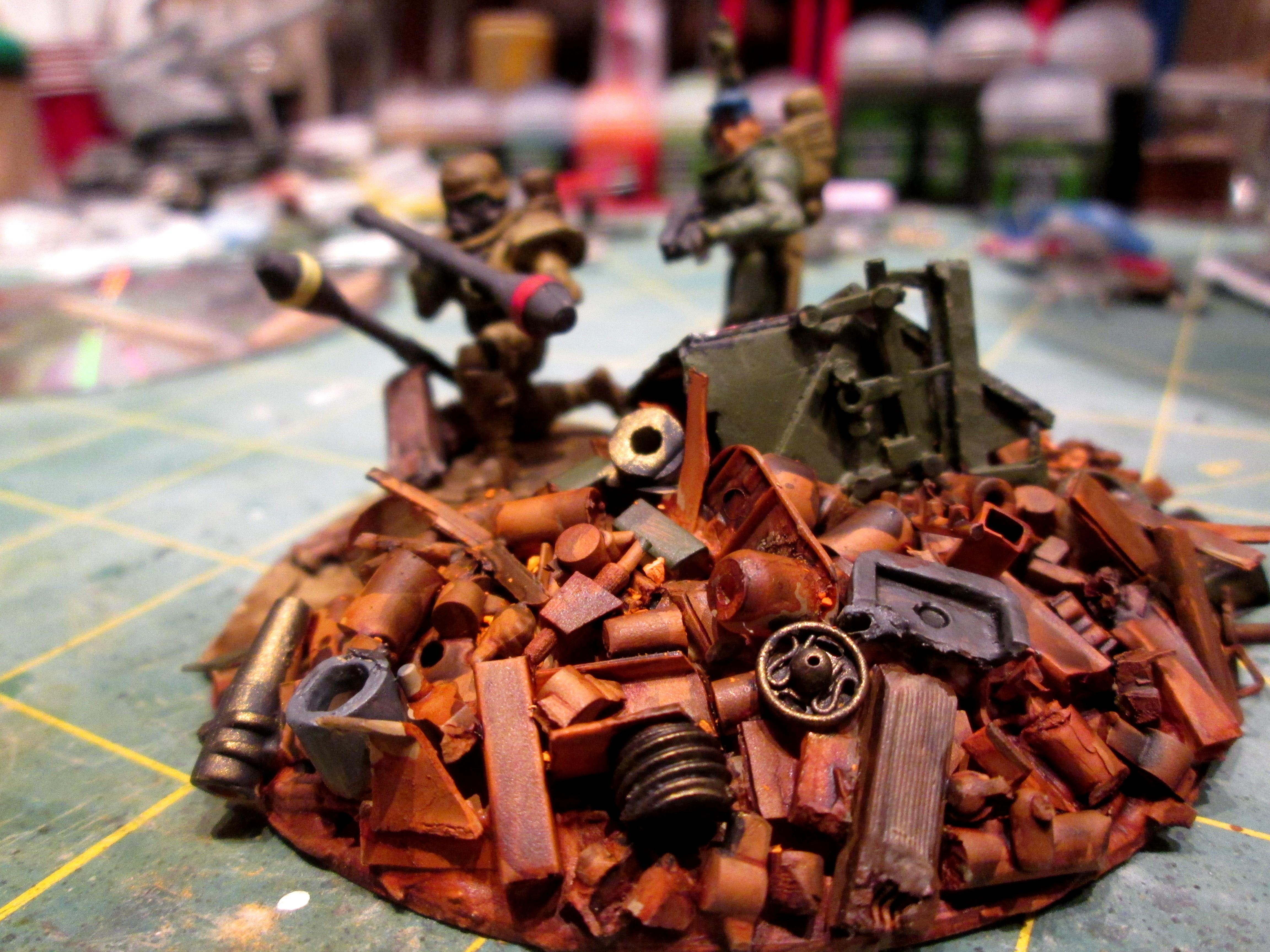 Junk, Necromunda, Rust, Terrain, Warhammer 40,000