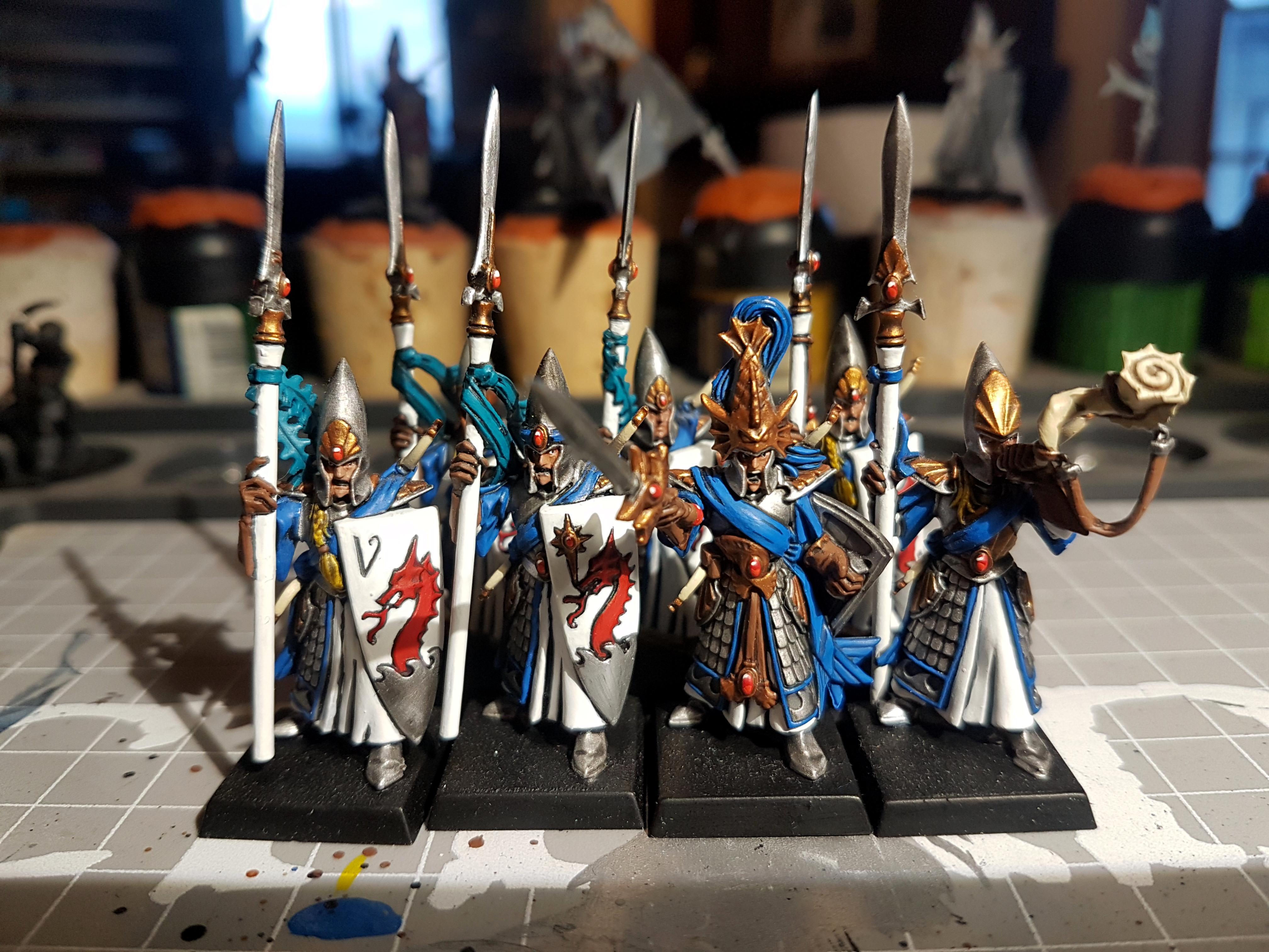 High Elves, Lothern, Seaguard, Warhammer Fantasy