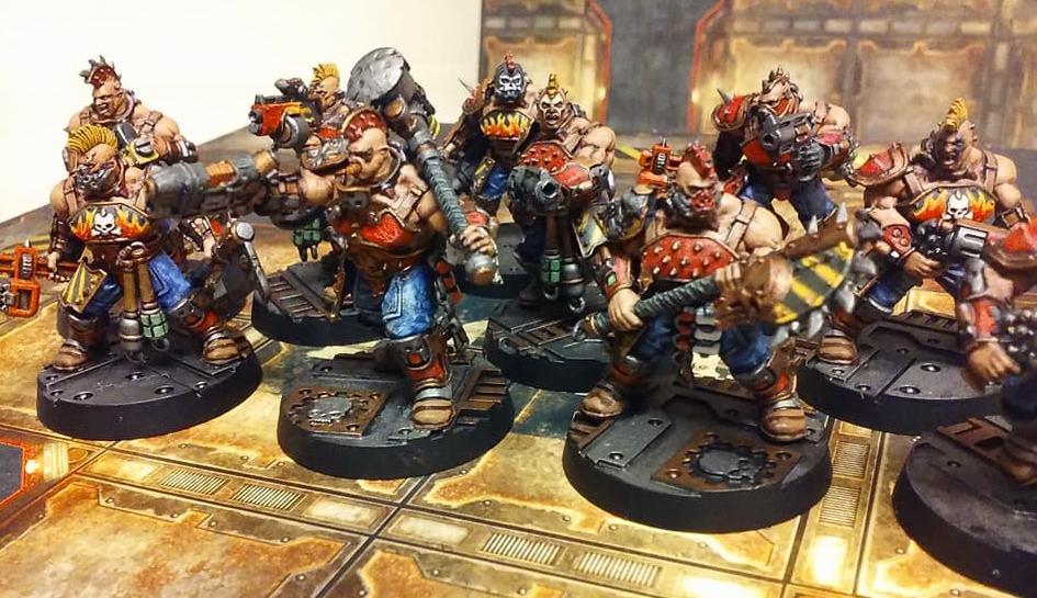 Goliath, House Goliath, Housegoliath, Necromunda, Warhammer 40,000