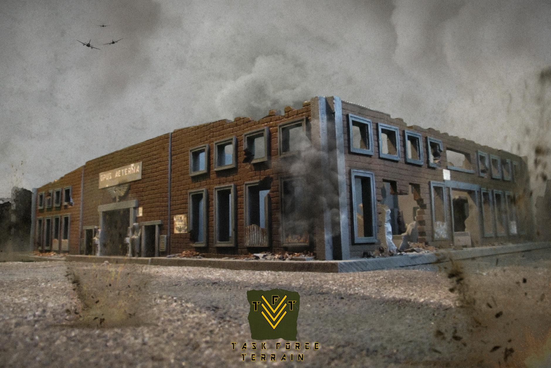 Buildings, Terrain, Wargame, Warhammer 40,000, Warhammer Fantasy, World War 2