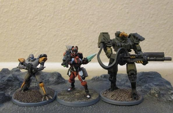 WHISPER mecha compared to other 15mm mecha