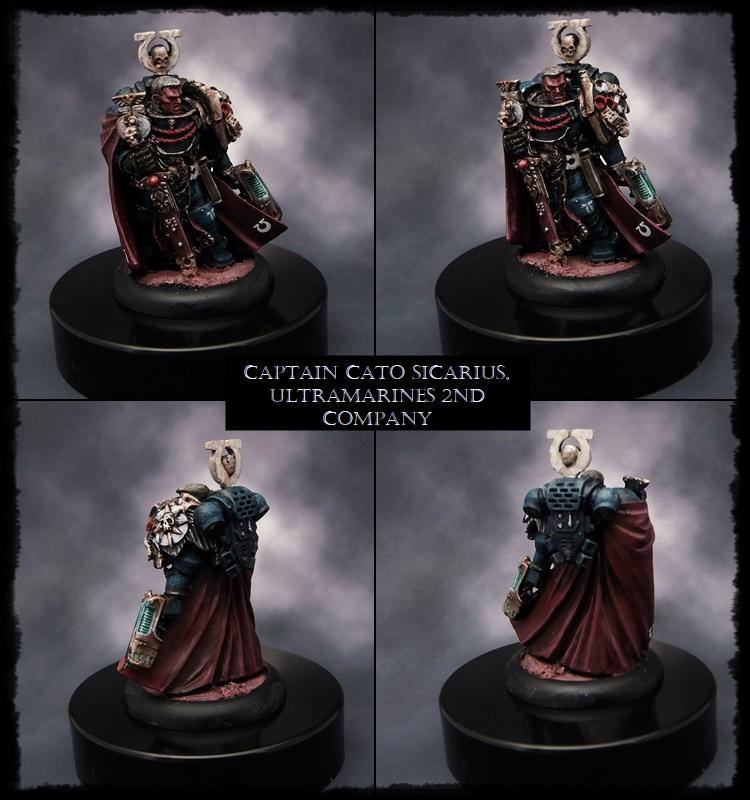 Captain, Sicarius, Space Marines, Warhammer 40,000