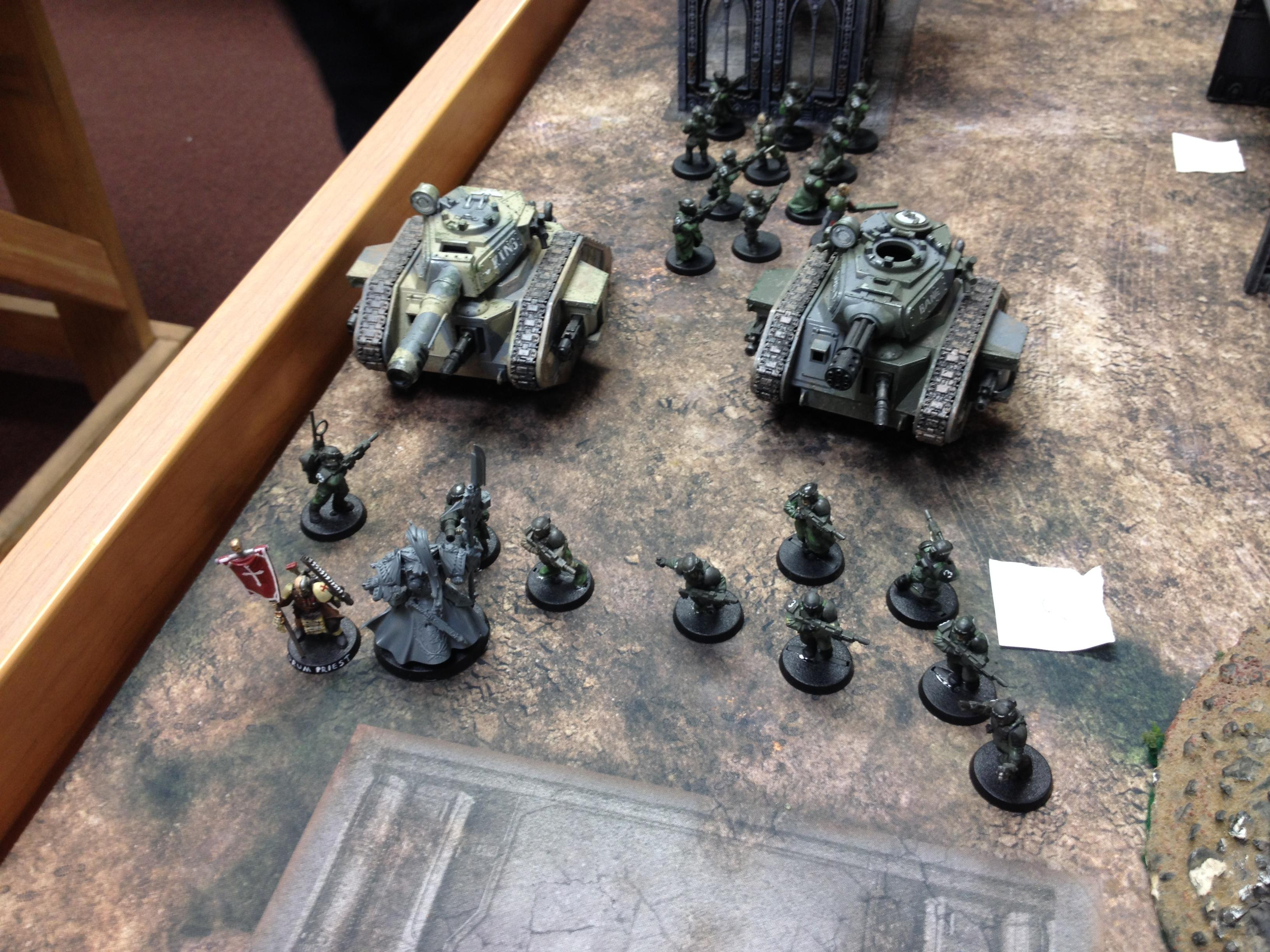 Am, Astra Militarum, Basilisk, Battle, Bullgryn, Chimera, Guard, Imperial Guard, Infantry, Leman, Ministorum Priest, Russ, Tabletop, Warhammer 40,000, Wyvern