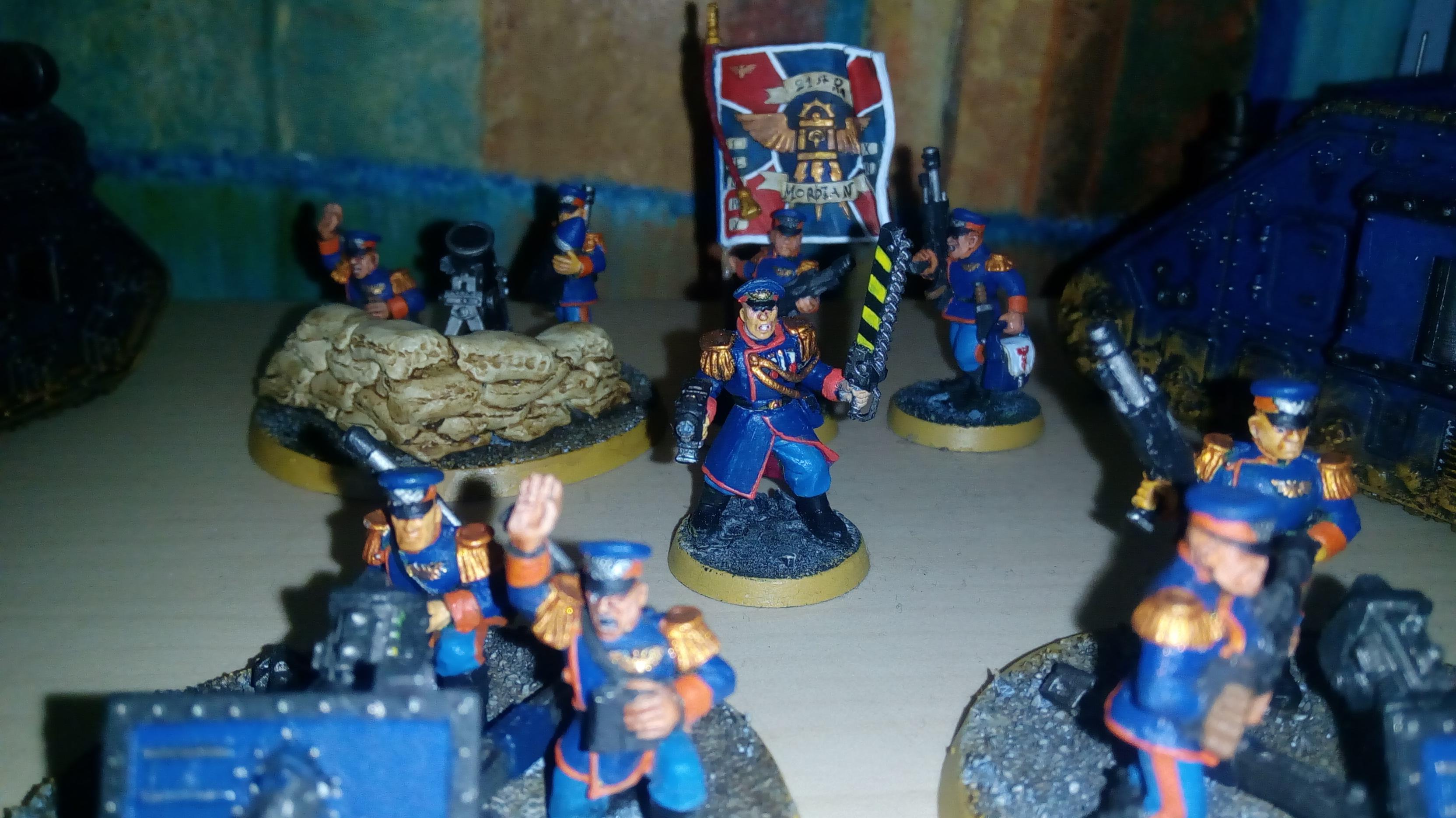 Astra Militarum, Imperial Guard, Mordian, Oldschool