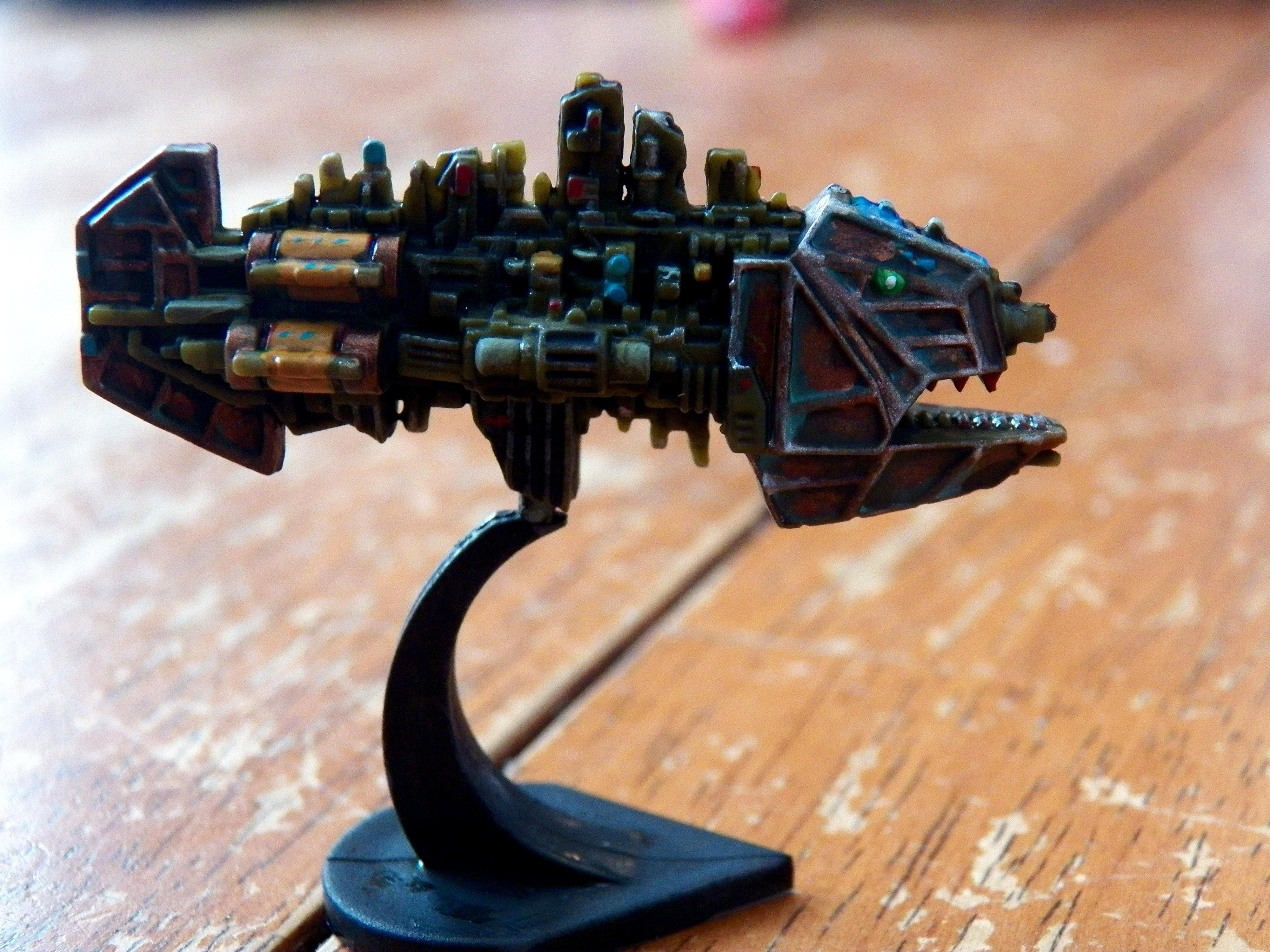 Battlefleet Gothic, Cruiser, Forbidden Stars, Orks