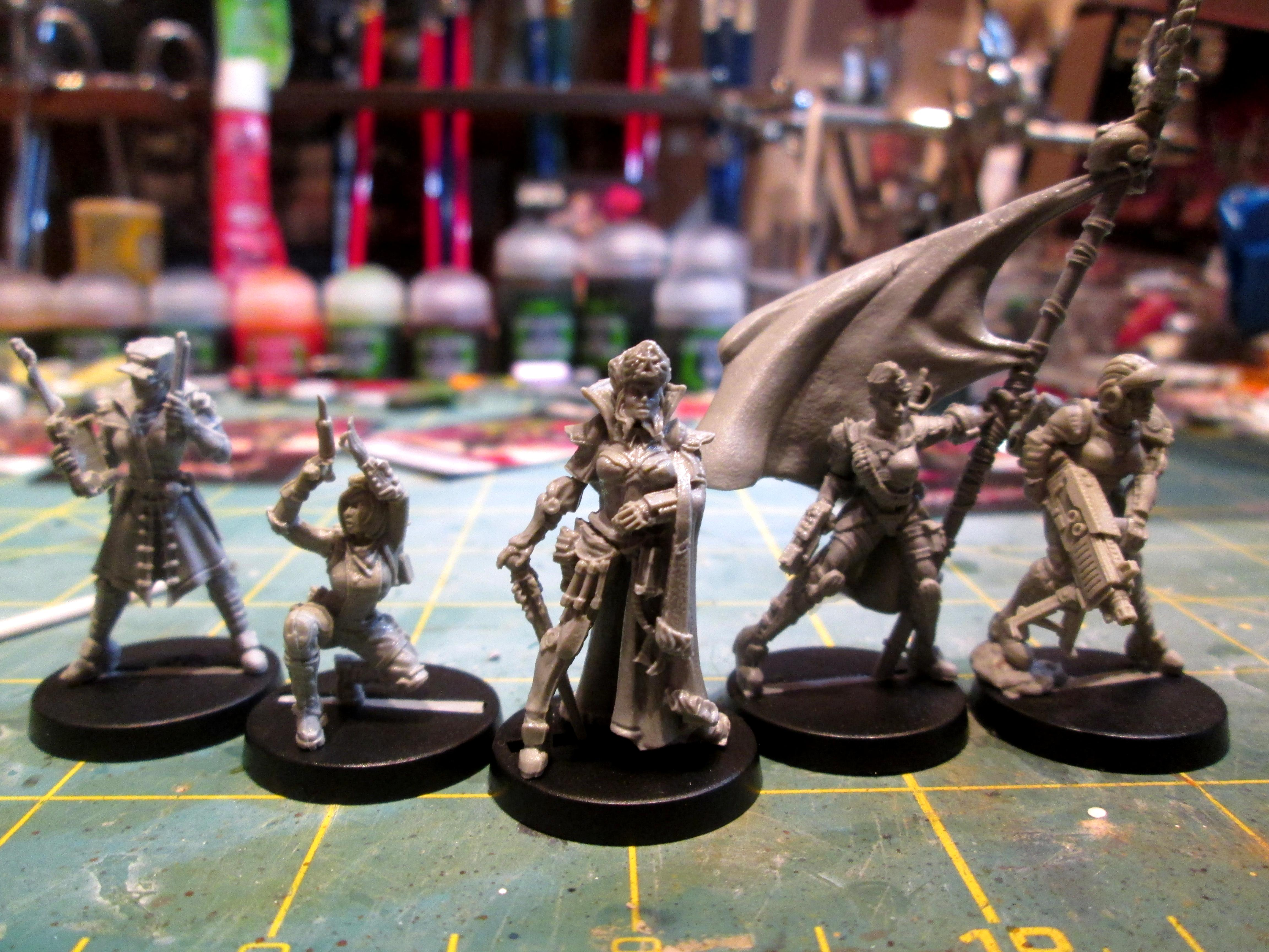 Command Group, Imperial Guard, Infantry, Raging Heroes