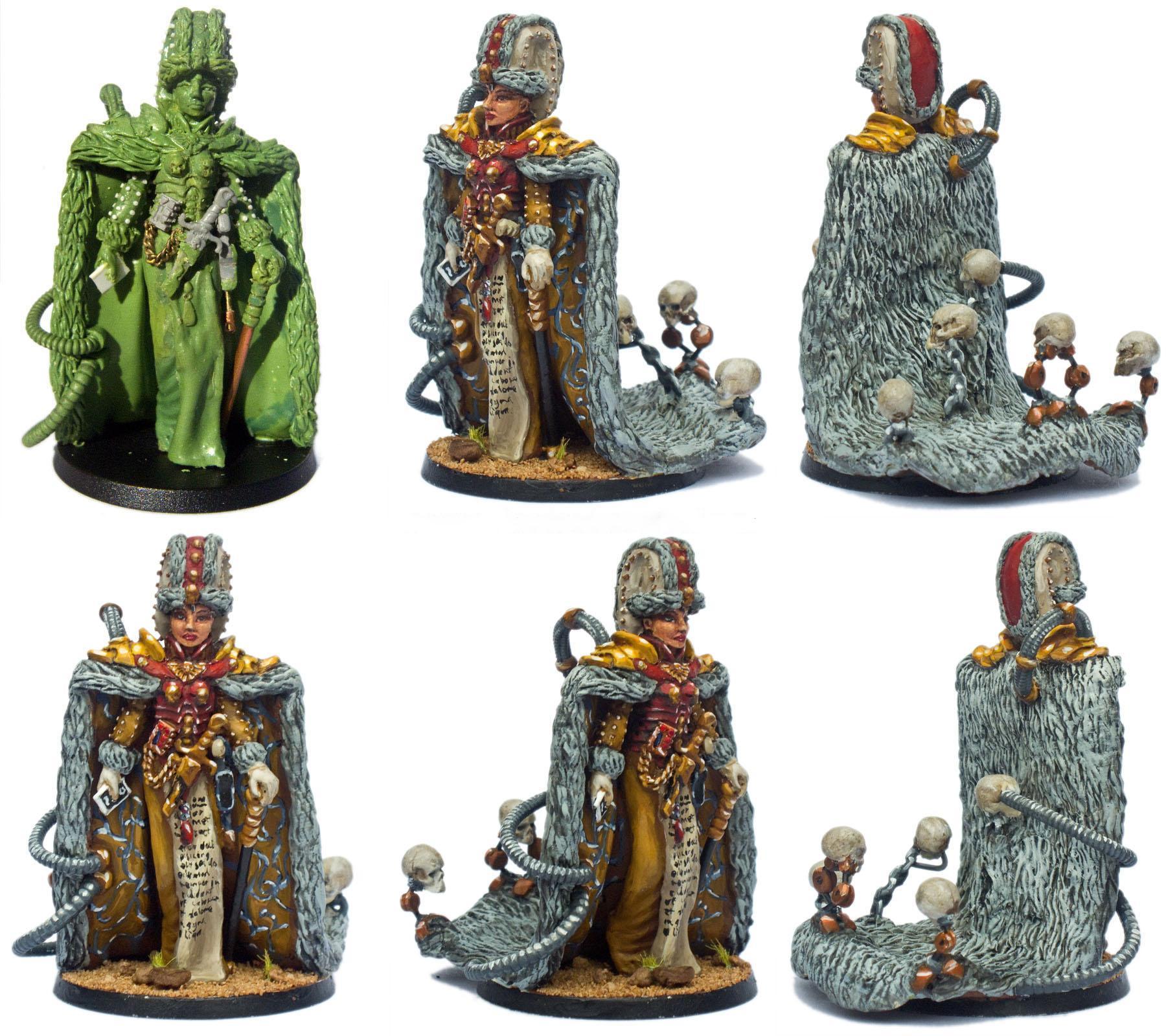 Female, Grimdark, Imperial, Noble, Skull