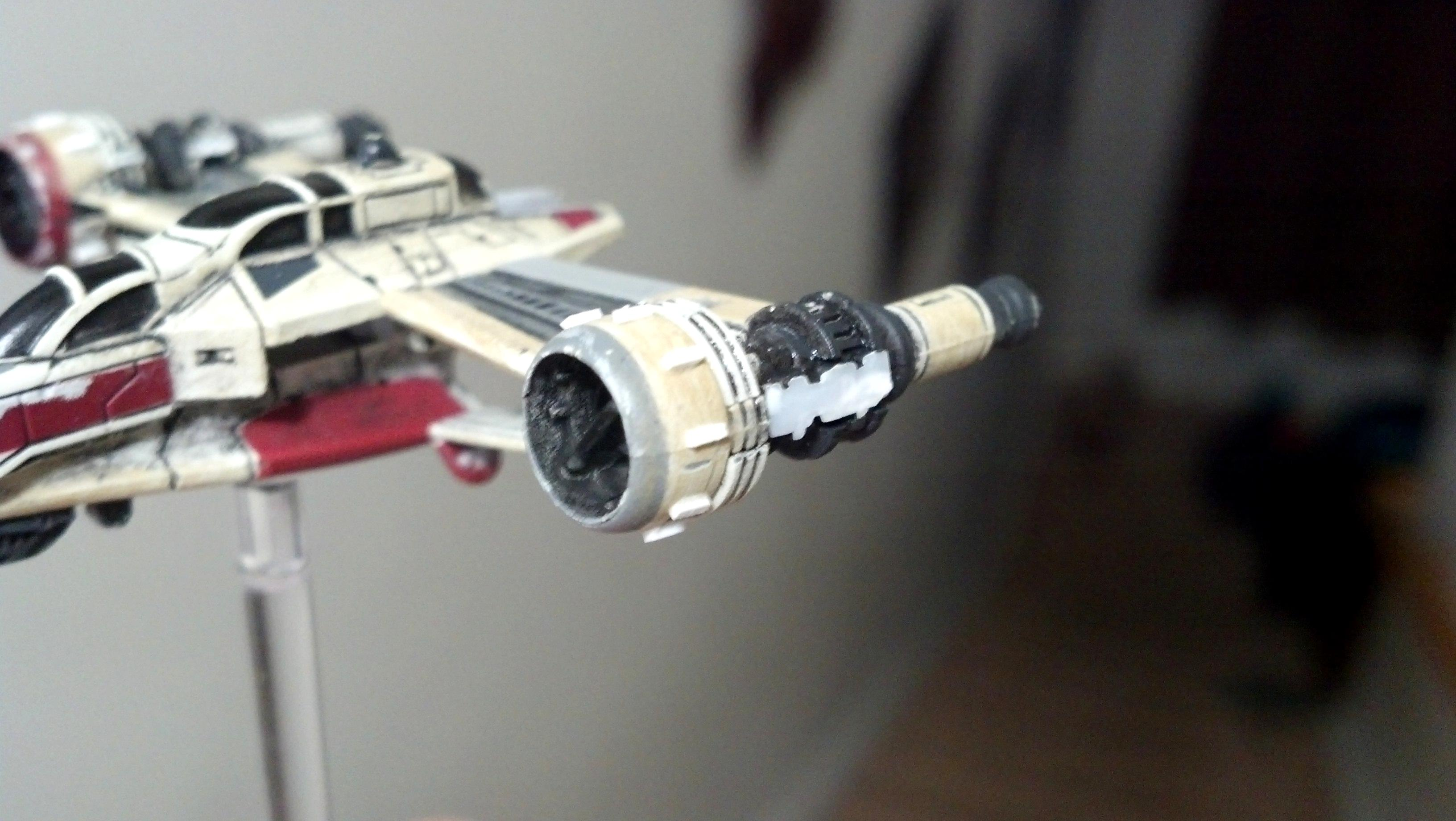 1/270, 170, 1:270, Arc, Arc-170, Modification, Repaint, Star Wars, X-wing Miniature Game