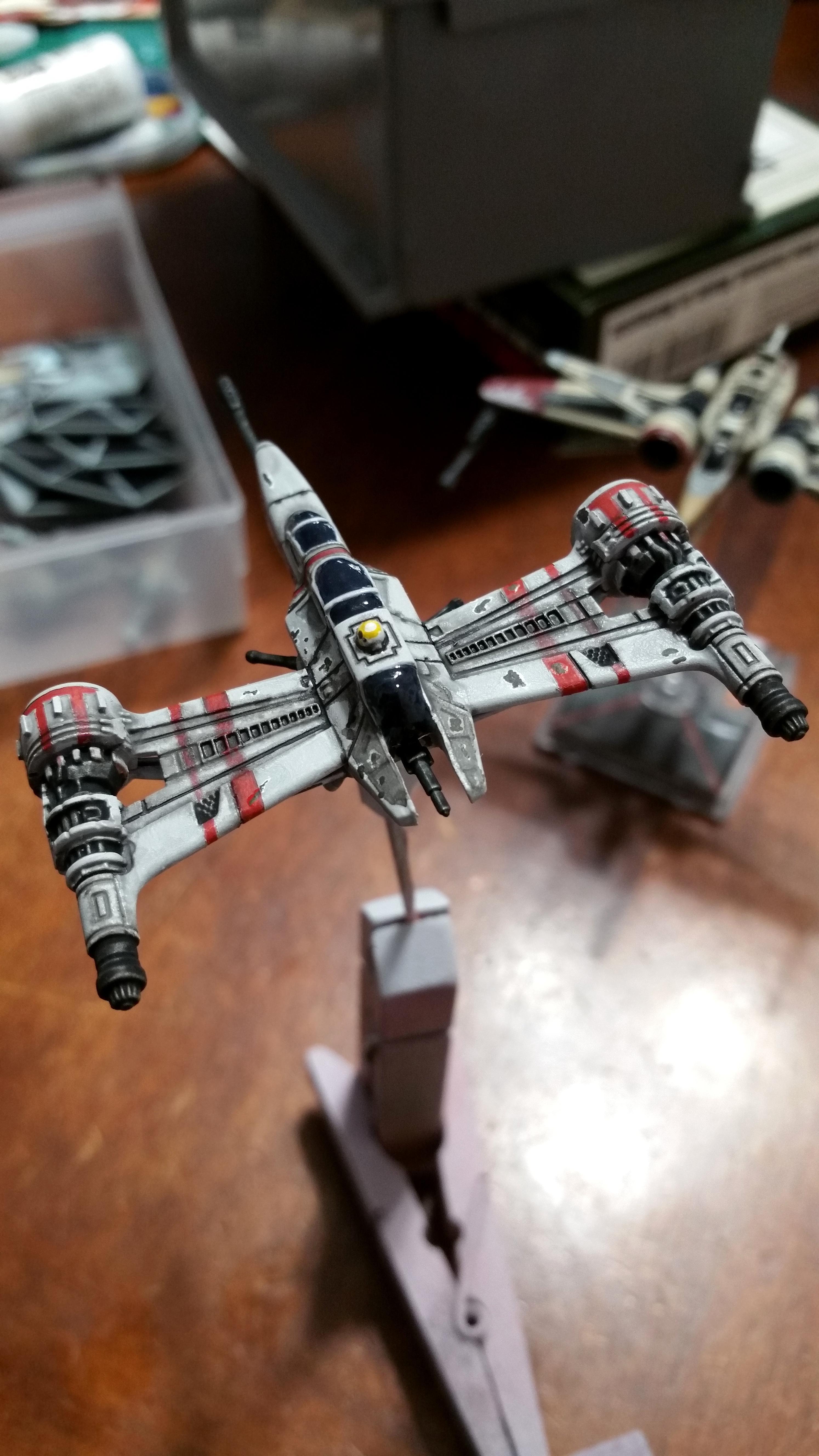 1/270, 170, 1:270, Arc, Arc-170, Modification, Repaint, Star Wars, X-wing Miniature Game