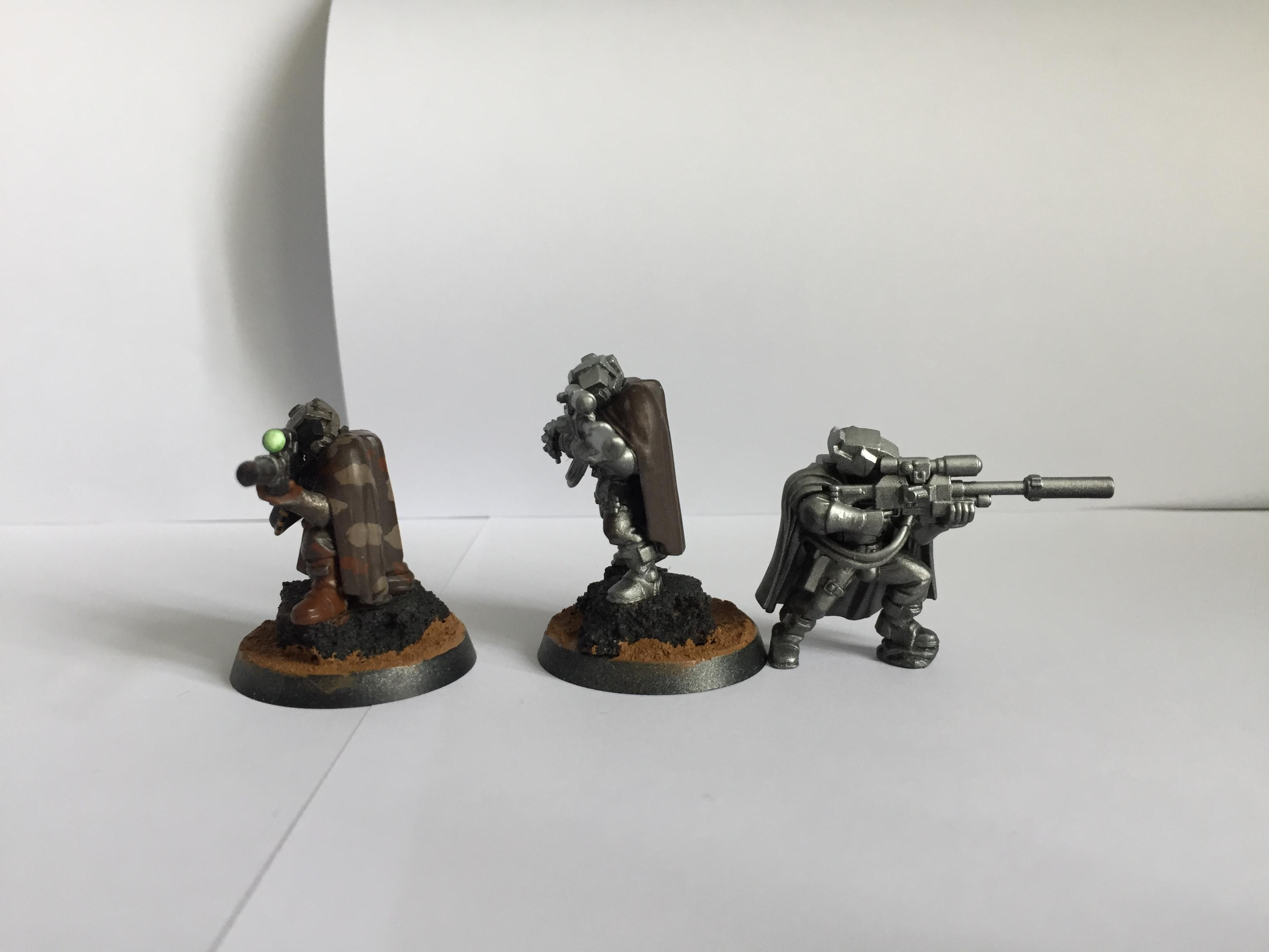 Iron Warriors, Pre Heresy, Preheresy, Reconnaissance Marines, Scout Armour, Sniper Rifles