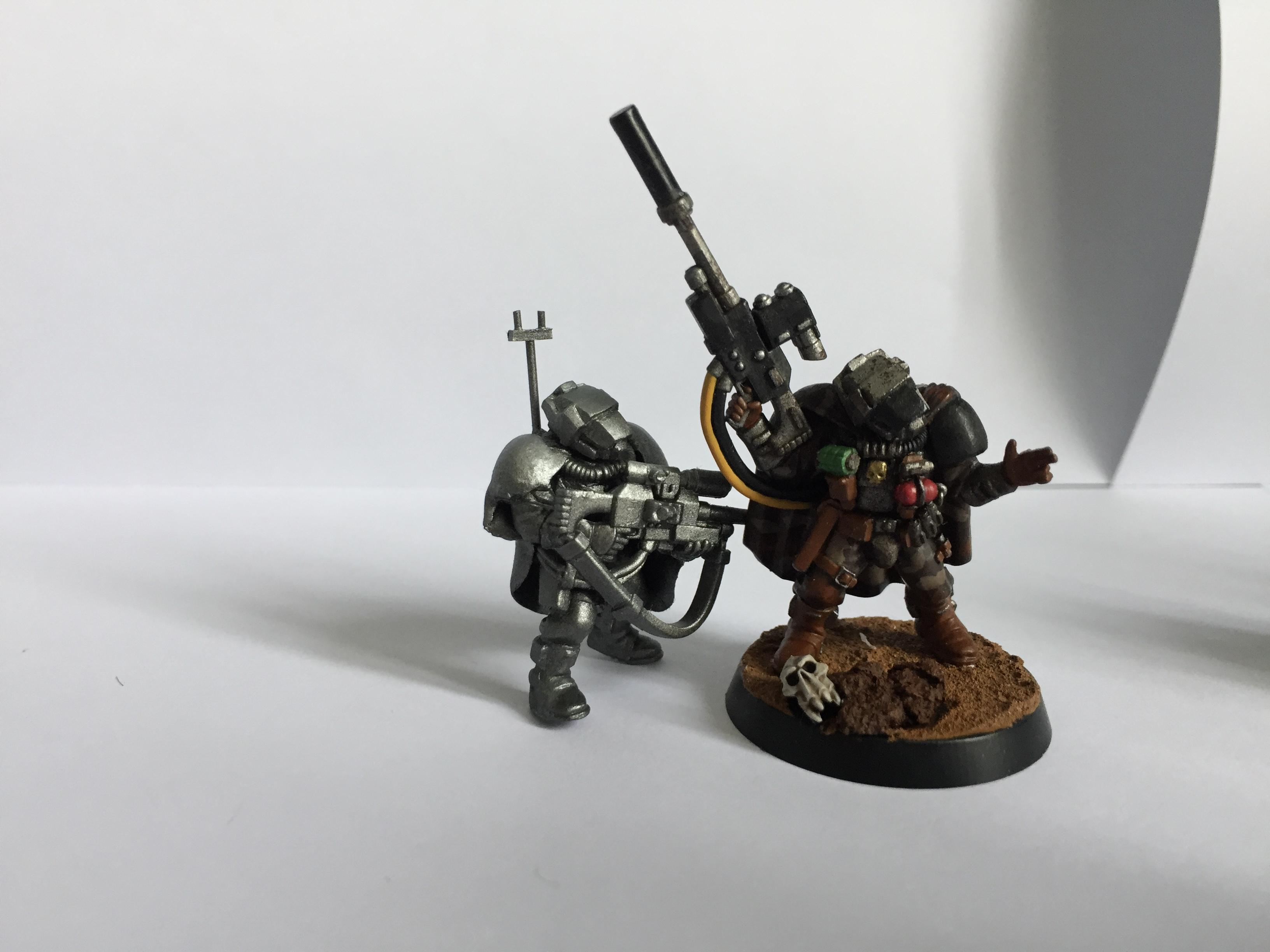 Iron Warriors, Pre Heresy, Preheresy, Reconnaissance Marines, Scout Armour, Sniper Rifles