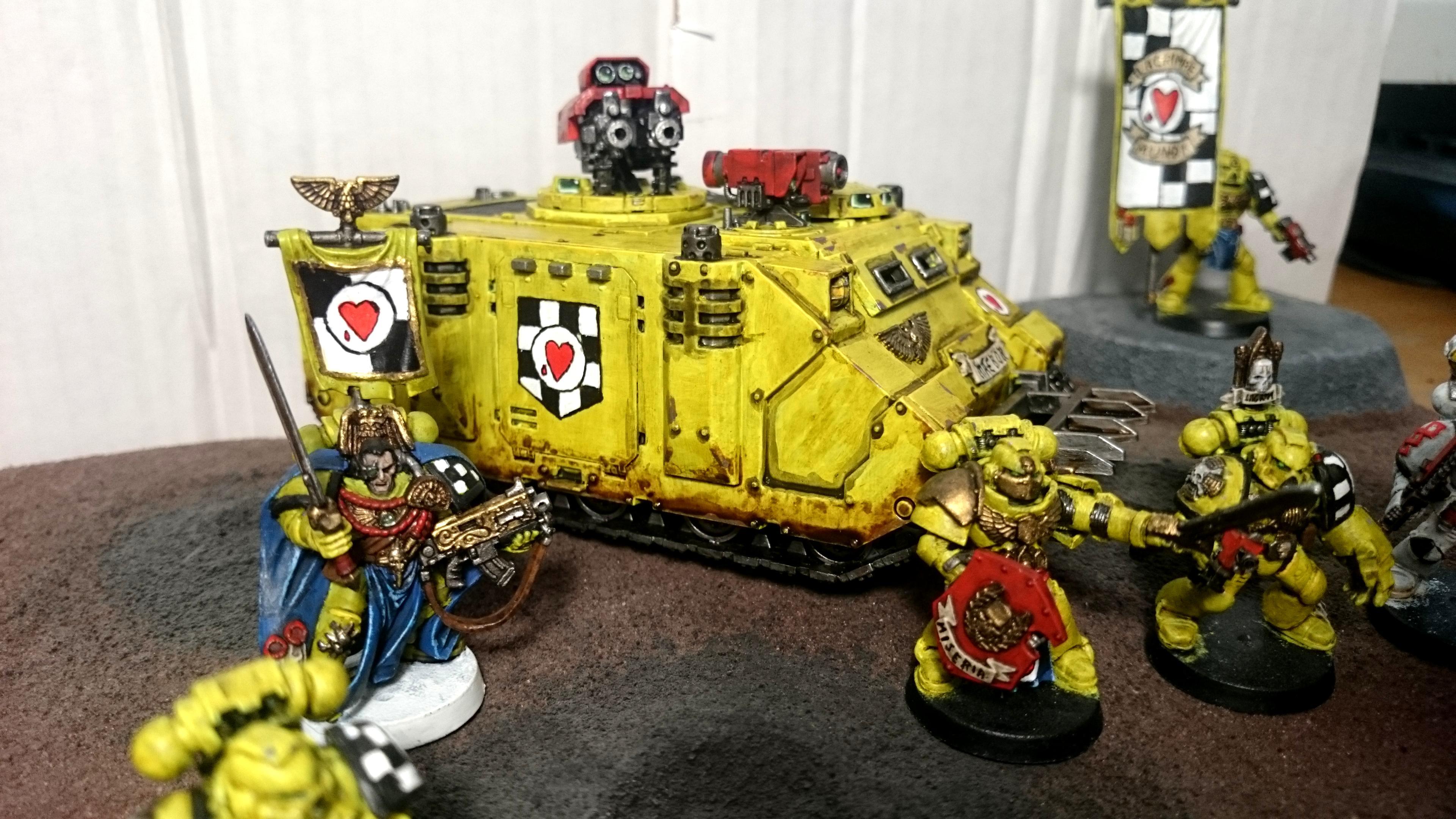 Captain, Command, Lamenters, Rhino
