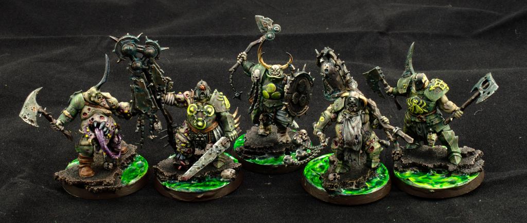 Blightkings, Chaos, Gamesworkshop, Nurgle, Nurgle Rotbringers, Putrid, Rotbringers, Warhammer Quest. Shadows Over Hammerfall