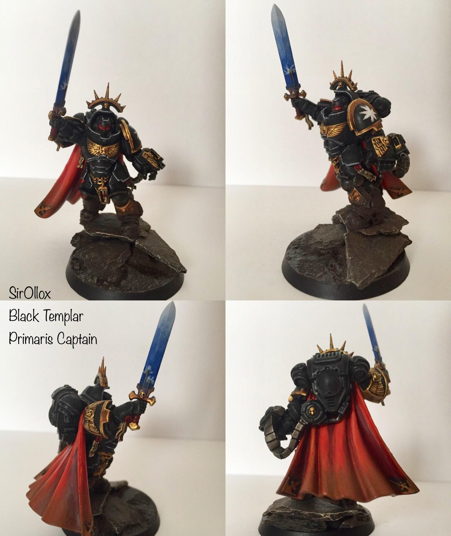 Black Templars, Captain, Primaris