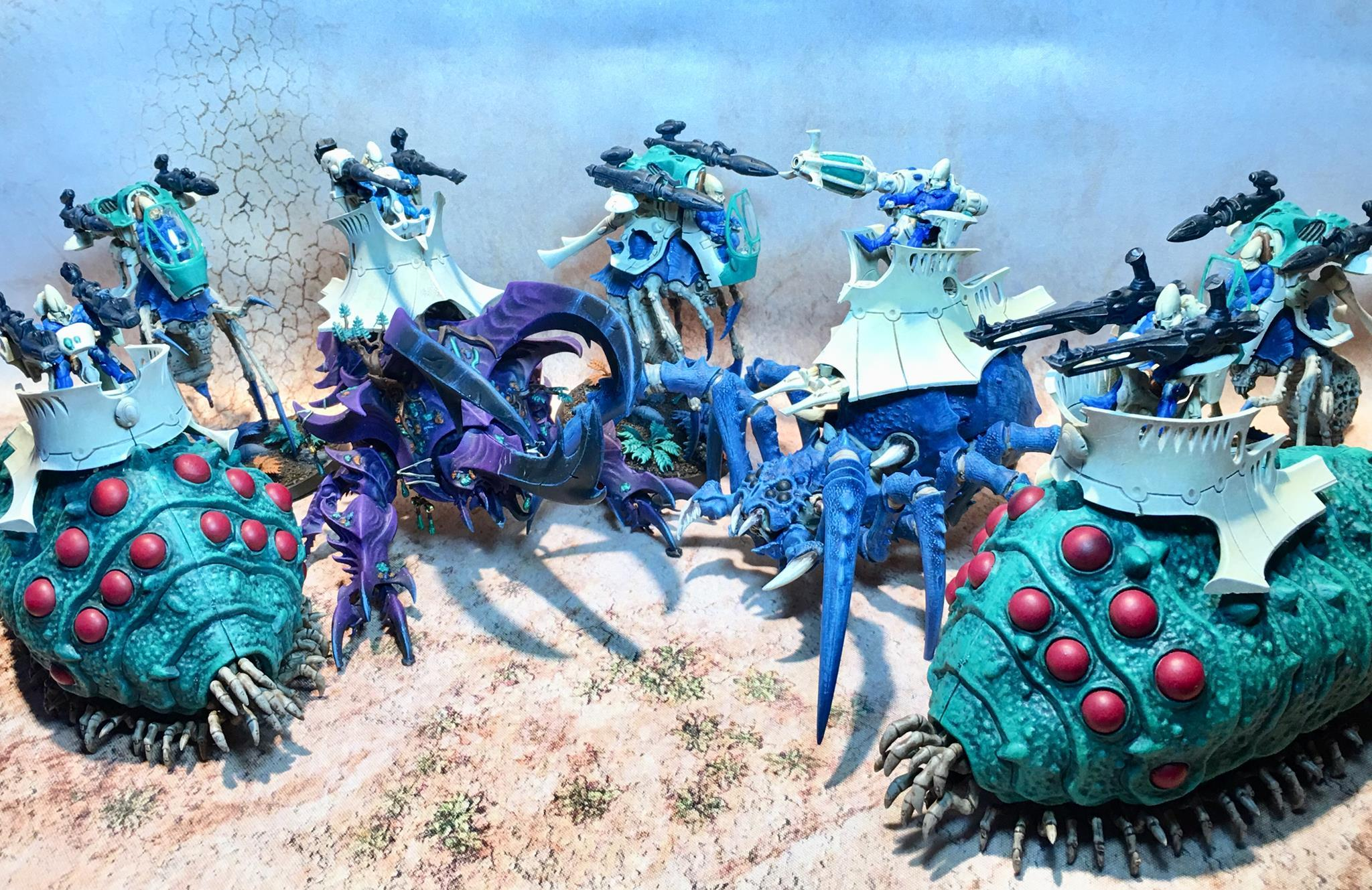 Anime, Bugs, Counts As, Eldar, Exodites, Insects