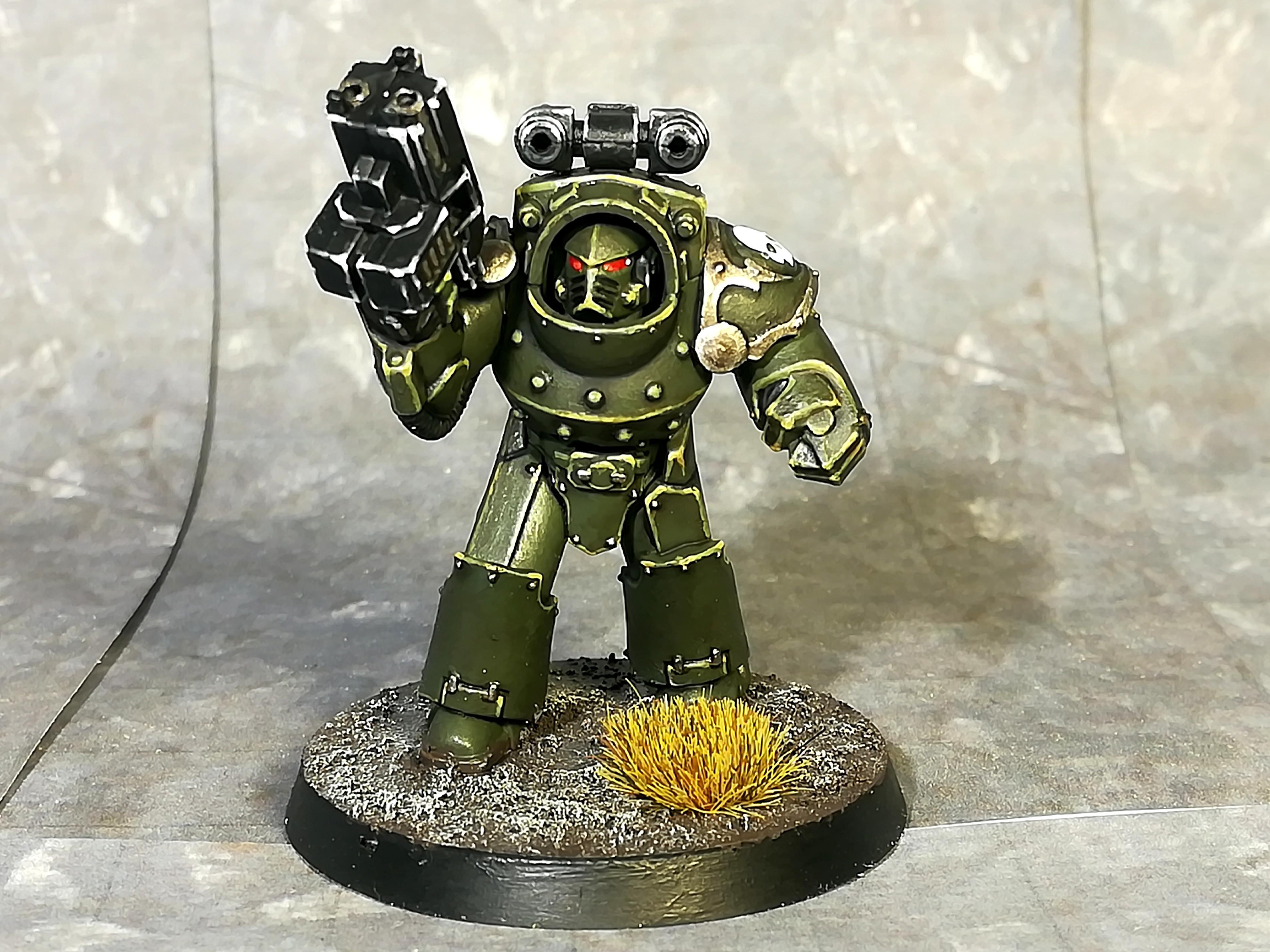 Horus Heresy, Terminator Armor