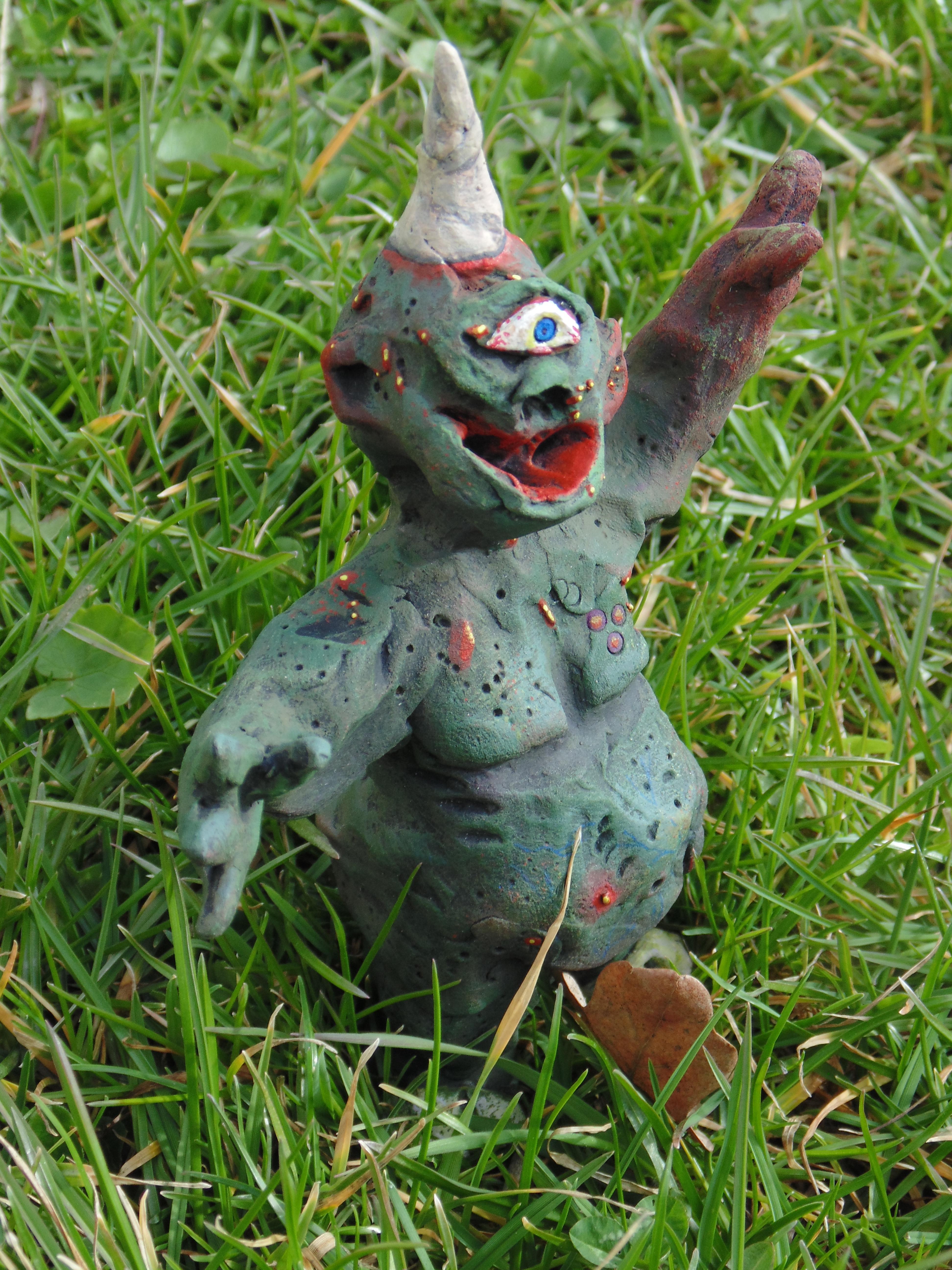 Chaos Nurgle, Converion, Conversion, Daemons, Garbage, Garbage Garden Gnome, Garden, Ggg, Gnome, Gnomes, Guo, Plague, Plaguebearers, Prince, Scratch