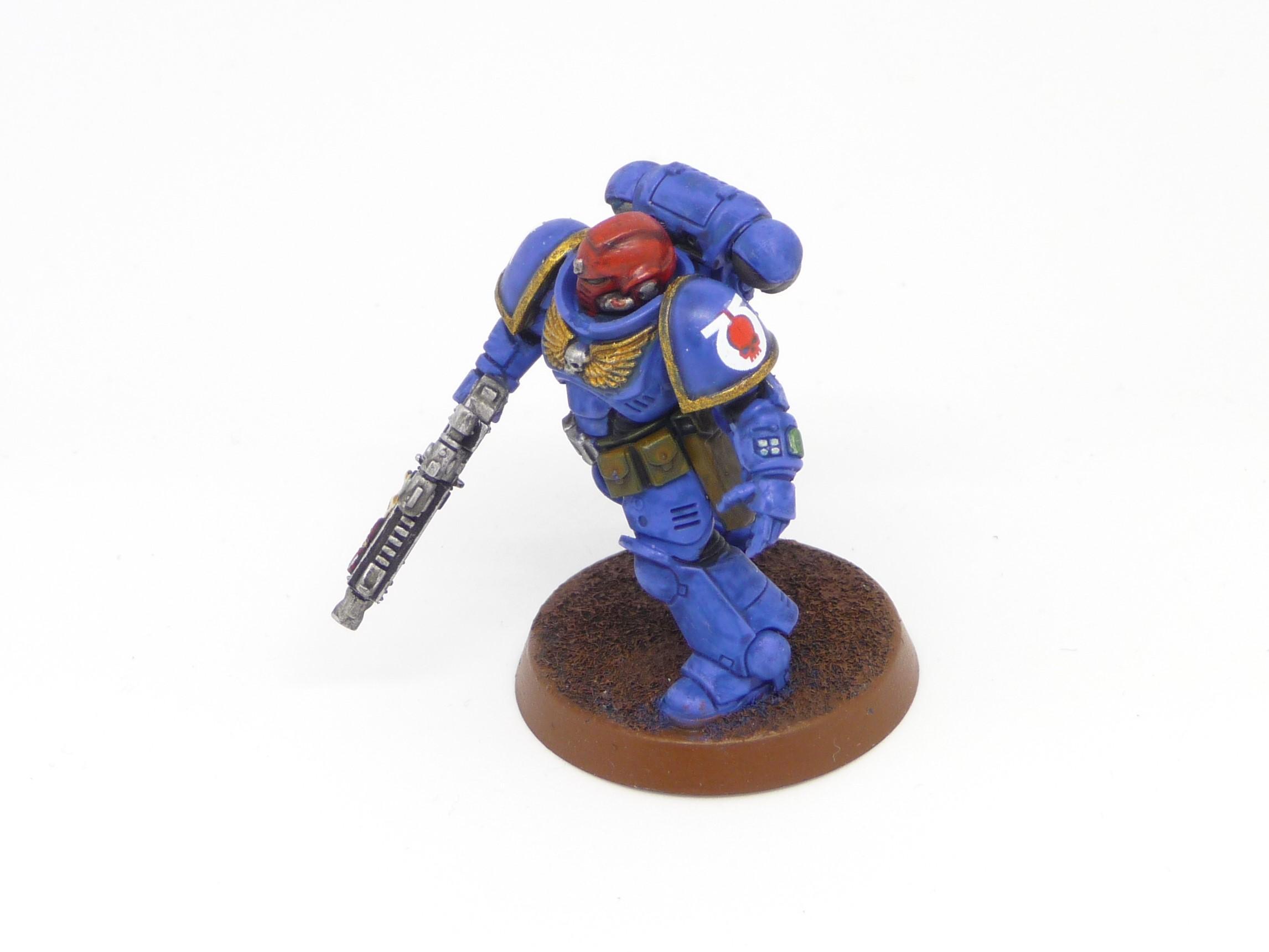 Intercessors, Primaris, Sergeant, Space Marines, Ultramarines