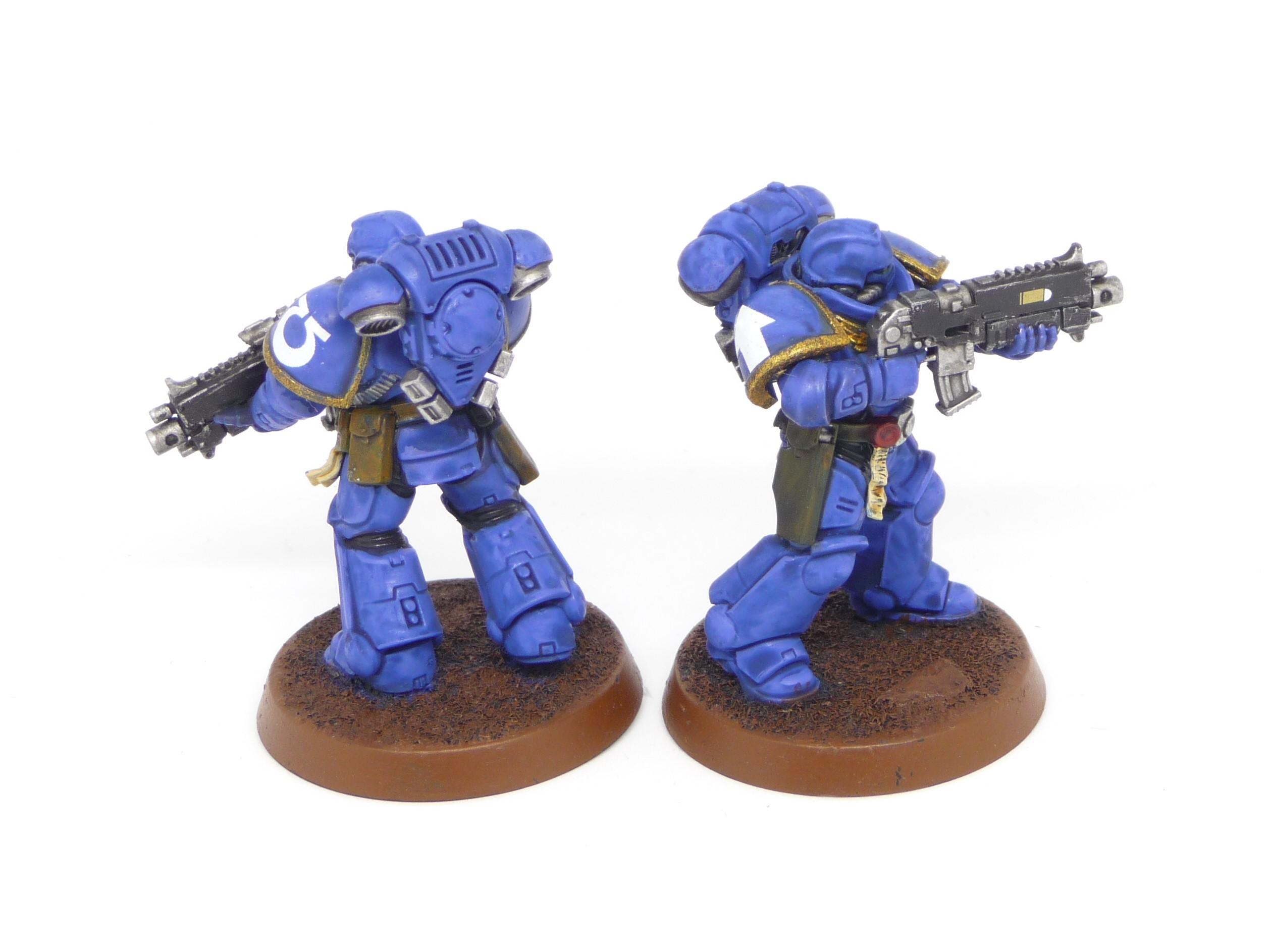 Intercessors, Primaris, Space Marines, Ultramarines