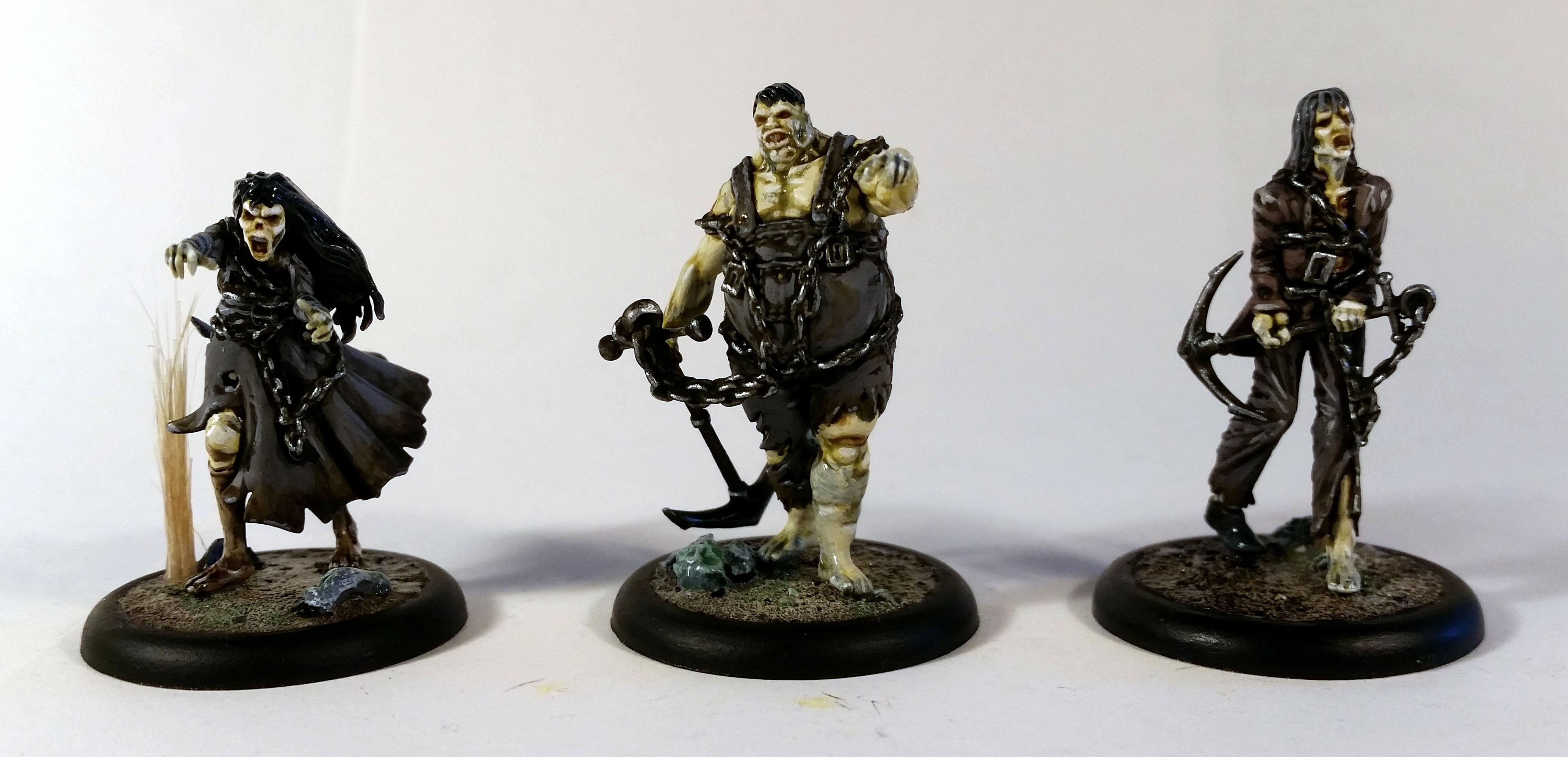 Malifaux, Resurrectionists, The Drowned