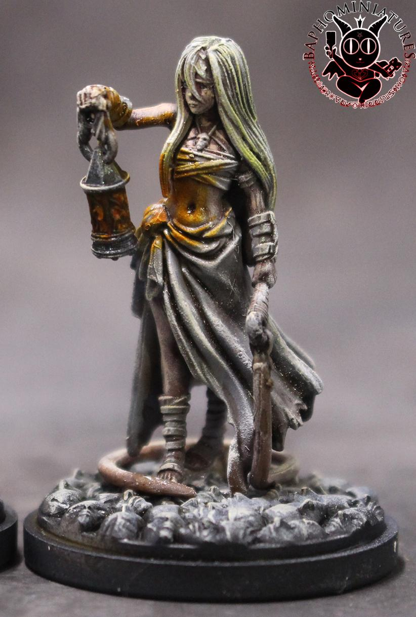Female, Kingdom Death, Object Source Lighting, Survivor
