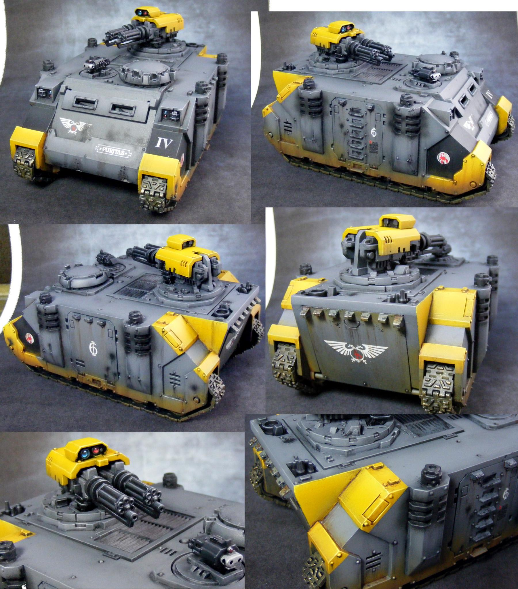 Assault Cannons, Razorback, Red Scorpions, Space Marines, Warhammer 40,000