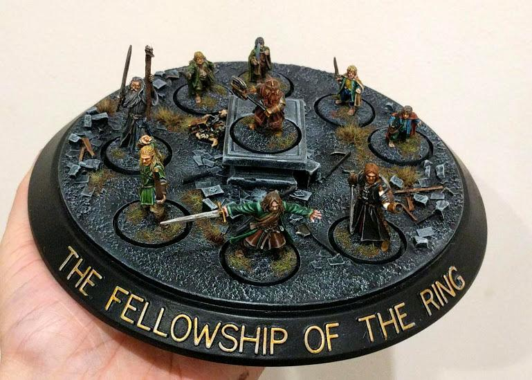 The Fellowship of the Ring - Display
